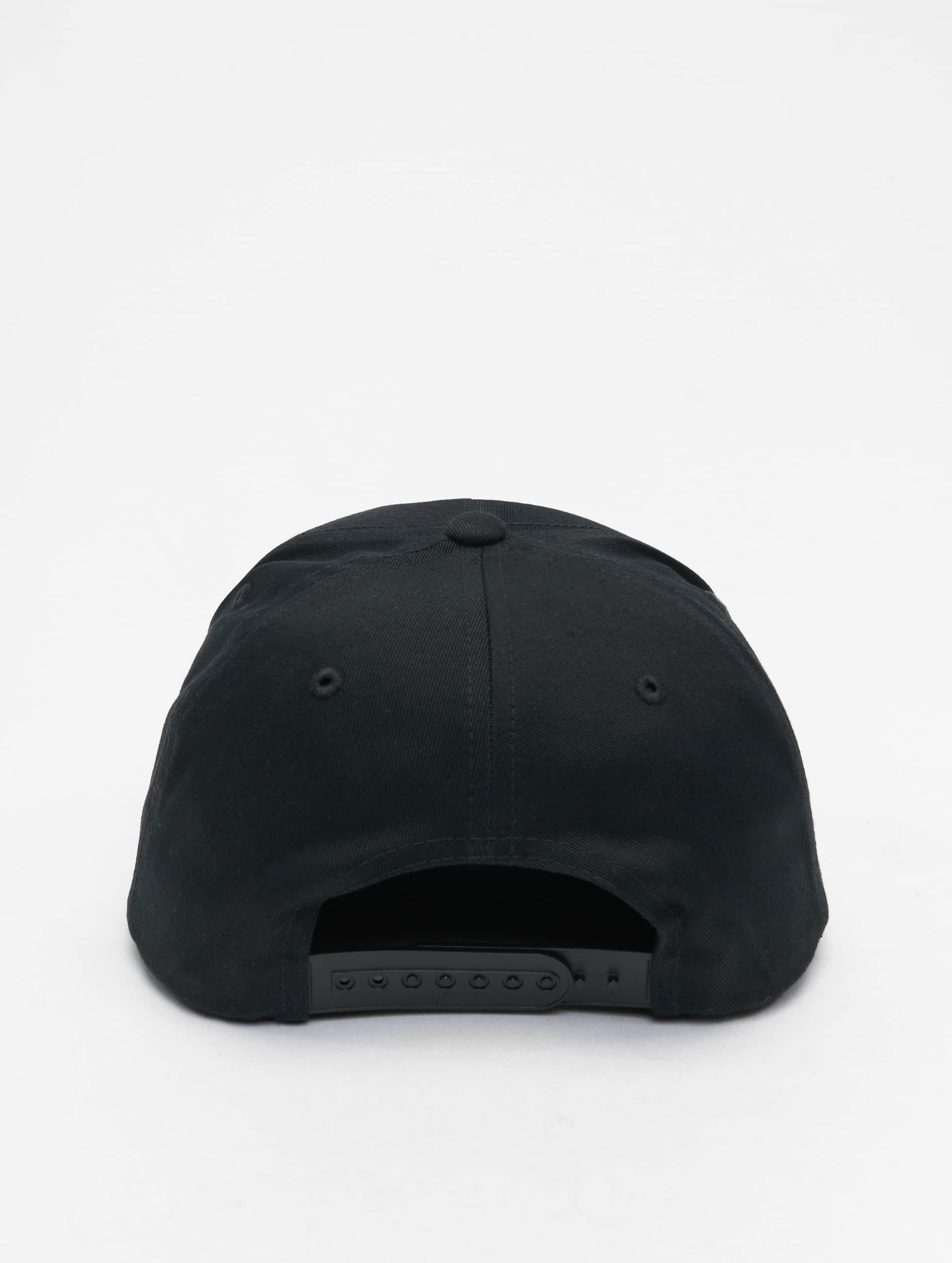 Flexfit snapback cap Classic 5 Panel zwart