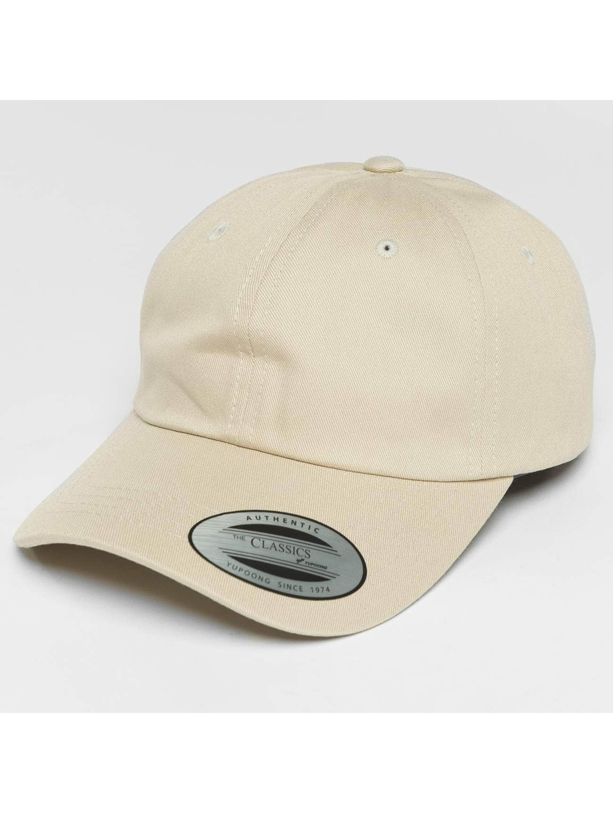 Flexfit Snapback Caps Low Profile Cotton Twill beige