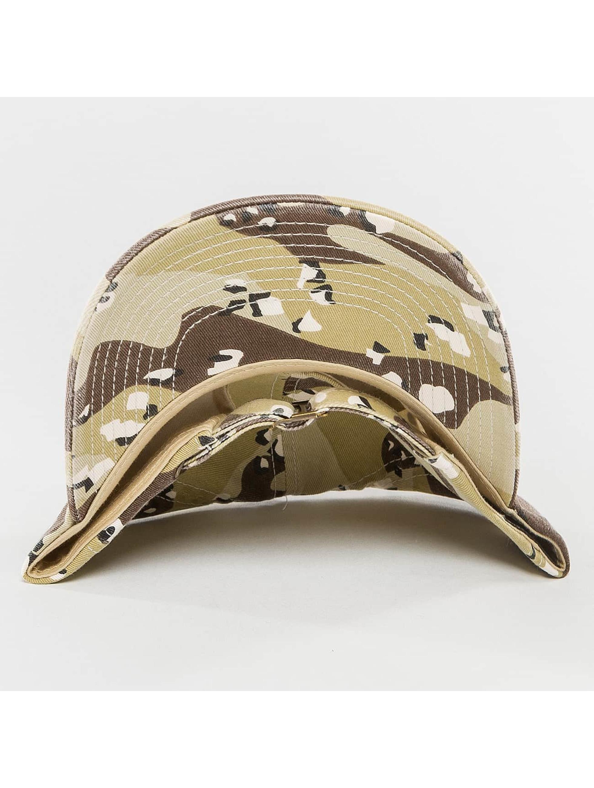 Flexfit Snapback Caps Low Profile brazowy