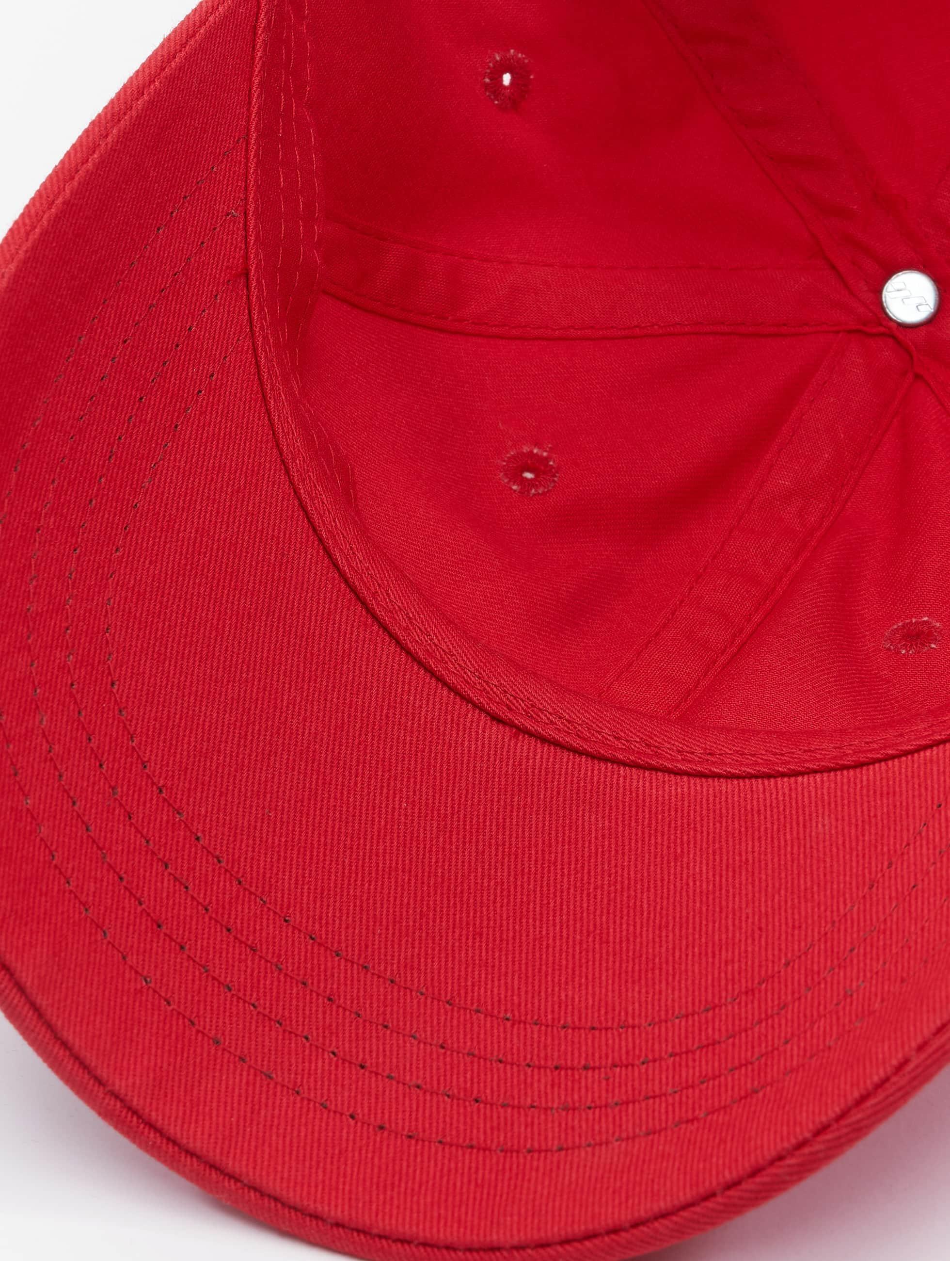 Flexfit Snapback Caps Low Profile Cotton Twill czerwony