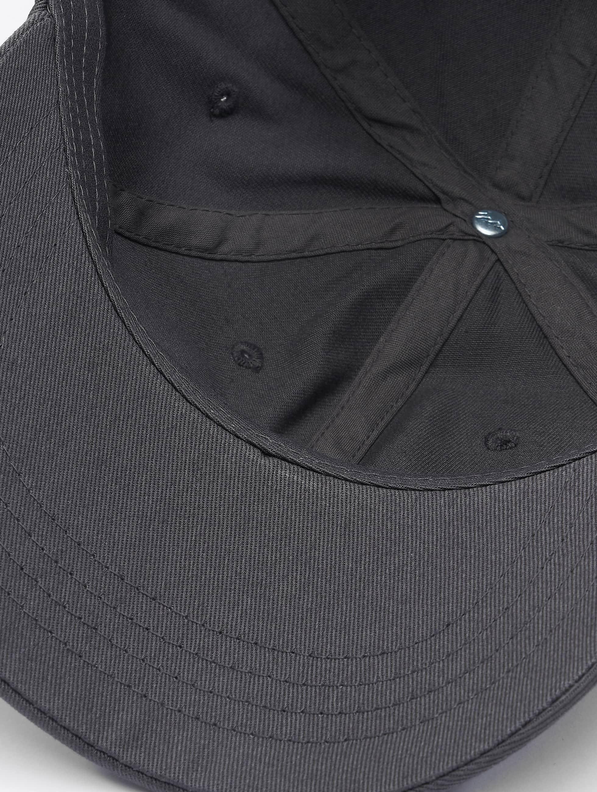Flexfit Snapback Caps Low Profile Cotton Twil grå