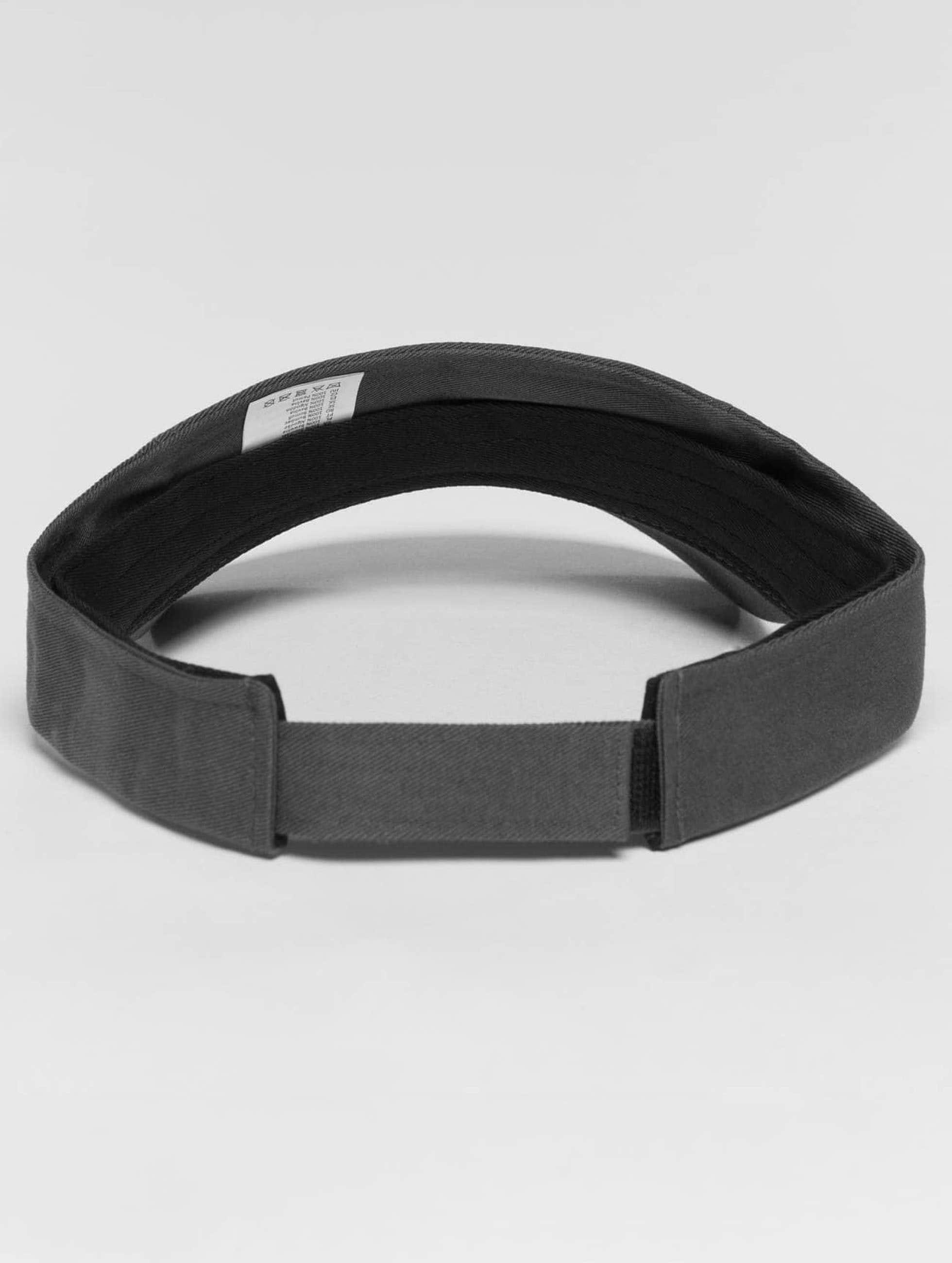 Flexfit Snapback Caps Curved Visor grå