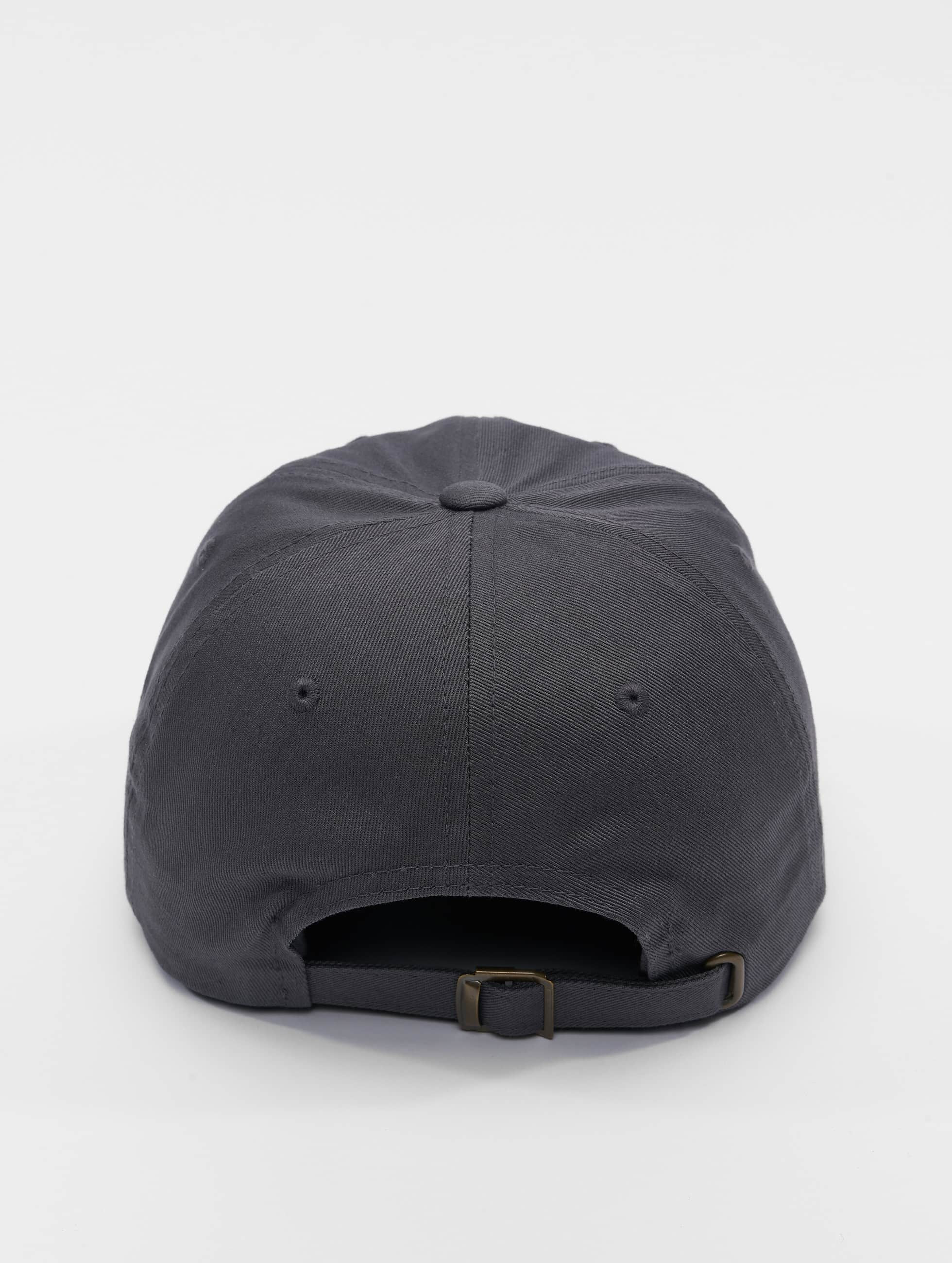 Flexfit Snapback Caps Low Profile Cotton Twil harmaa