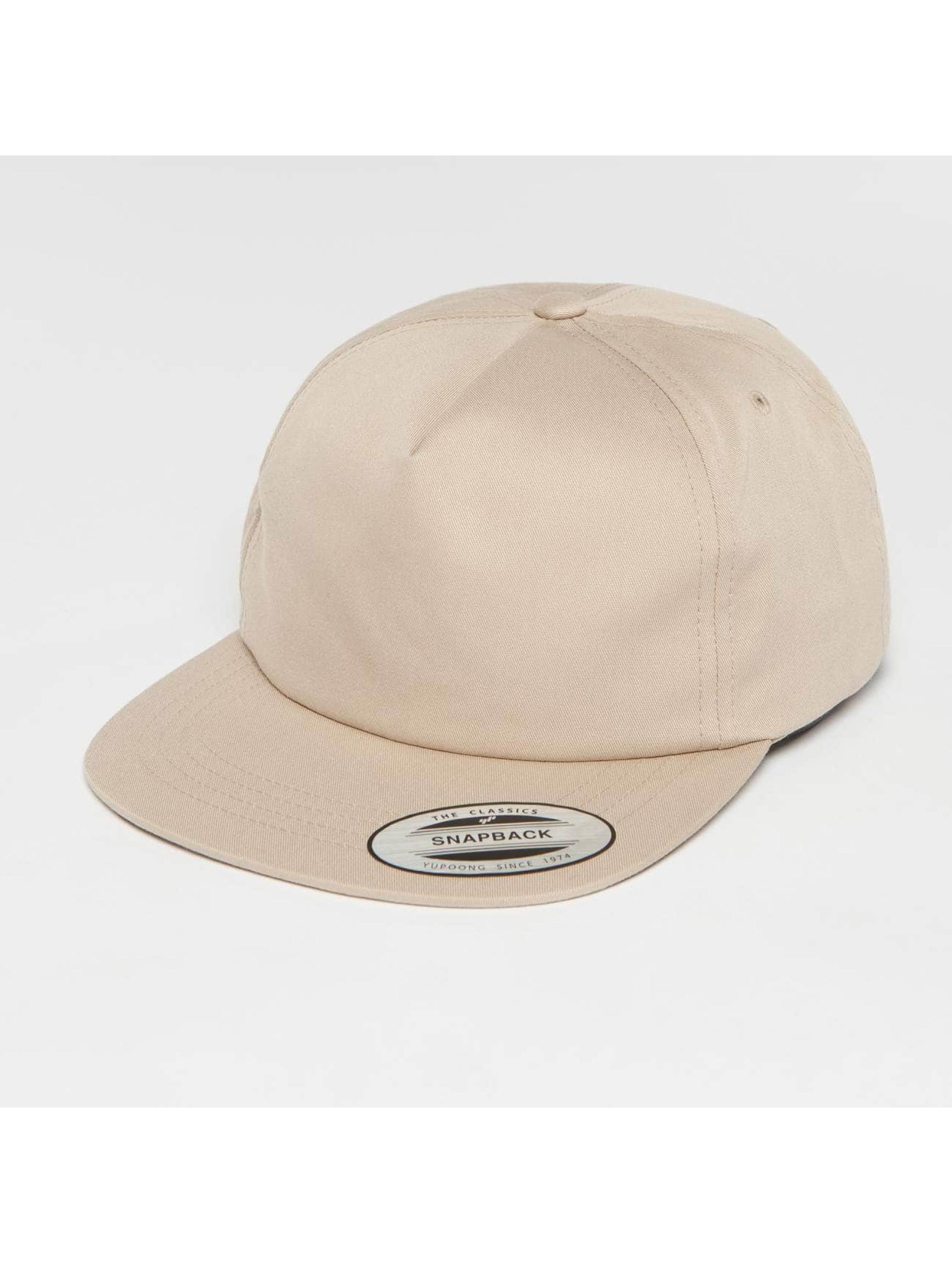 Flexfit Snapback Caps Unstructured khakiruskea