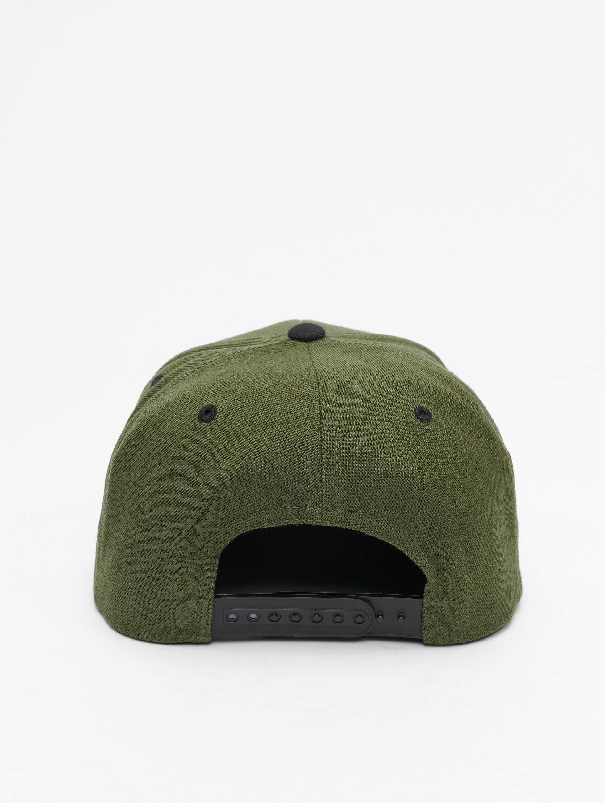 Flexfit Snapback Caps Classic Two Tone oliivi