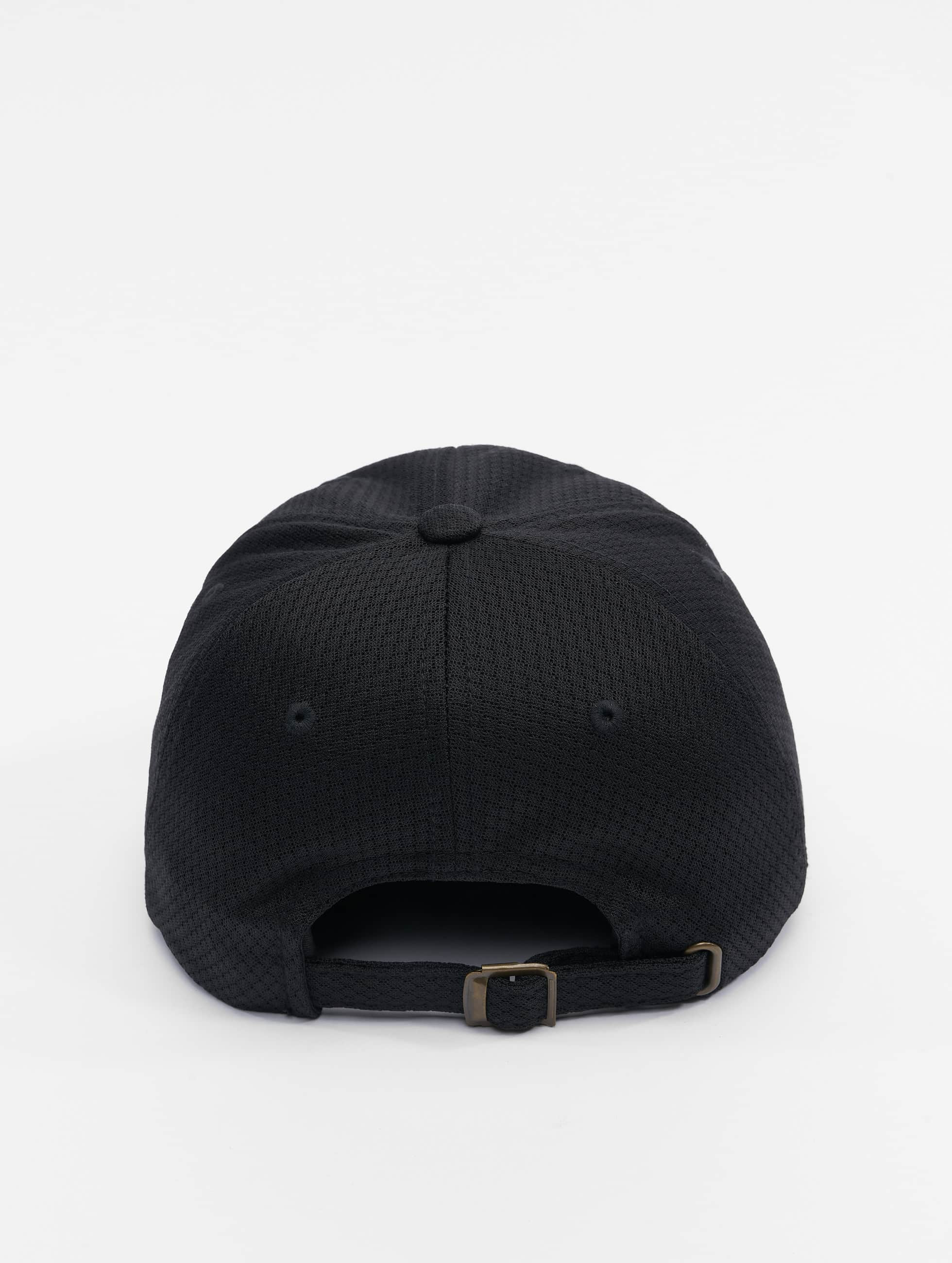 Flexfit Snapback Caps Honeycomb Dad svart
