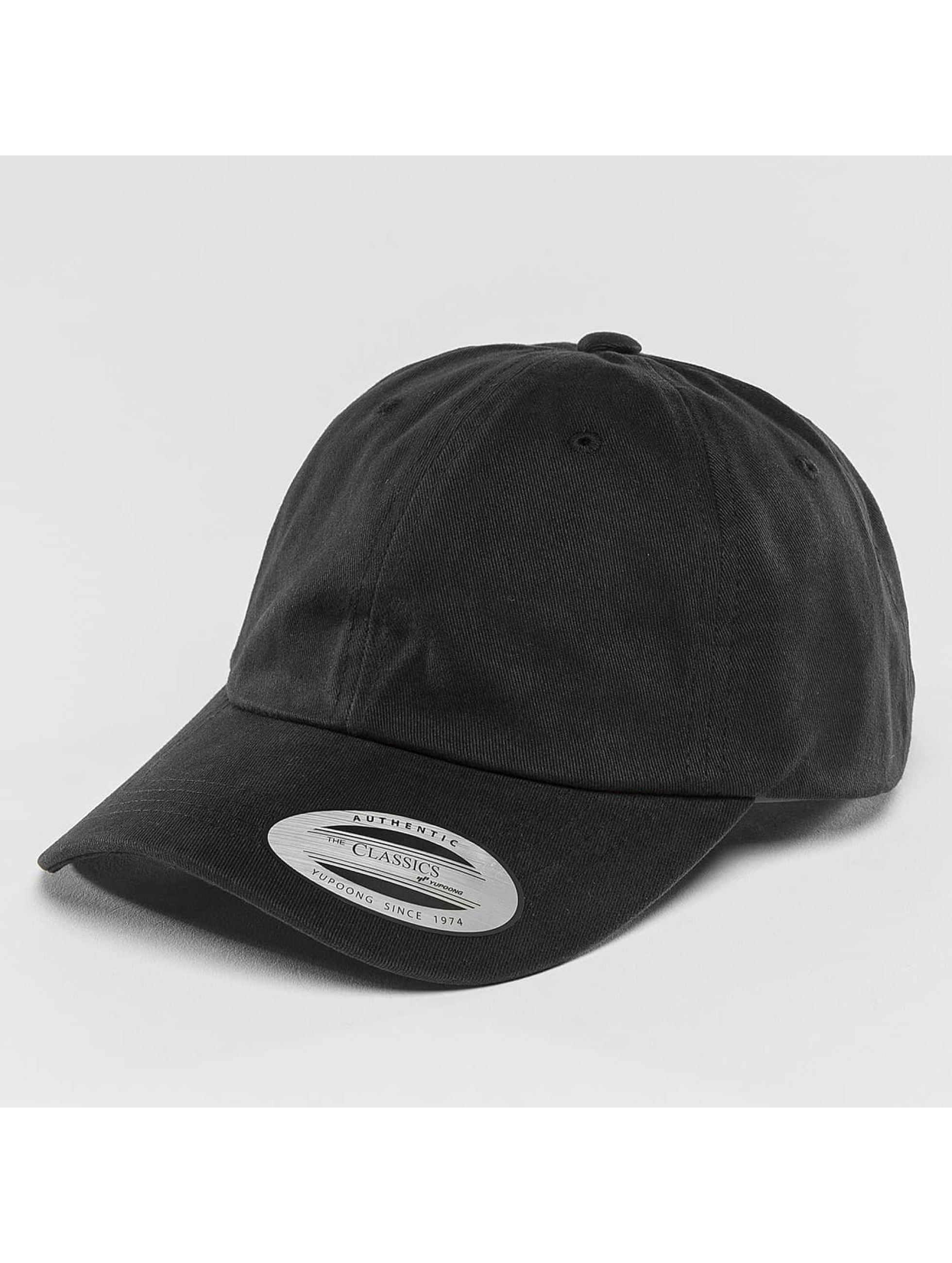 Flexfit Snapback Caps Twill Dad svart