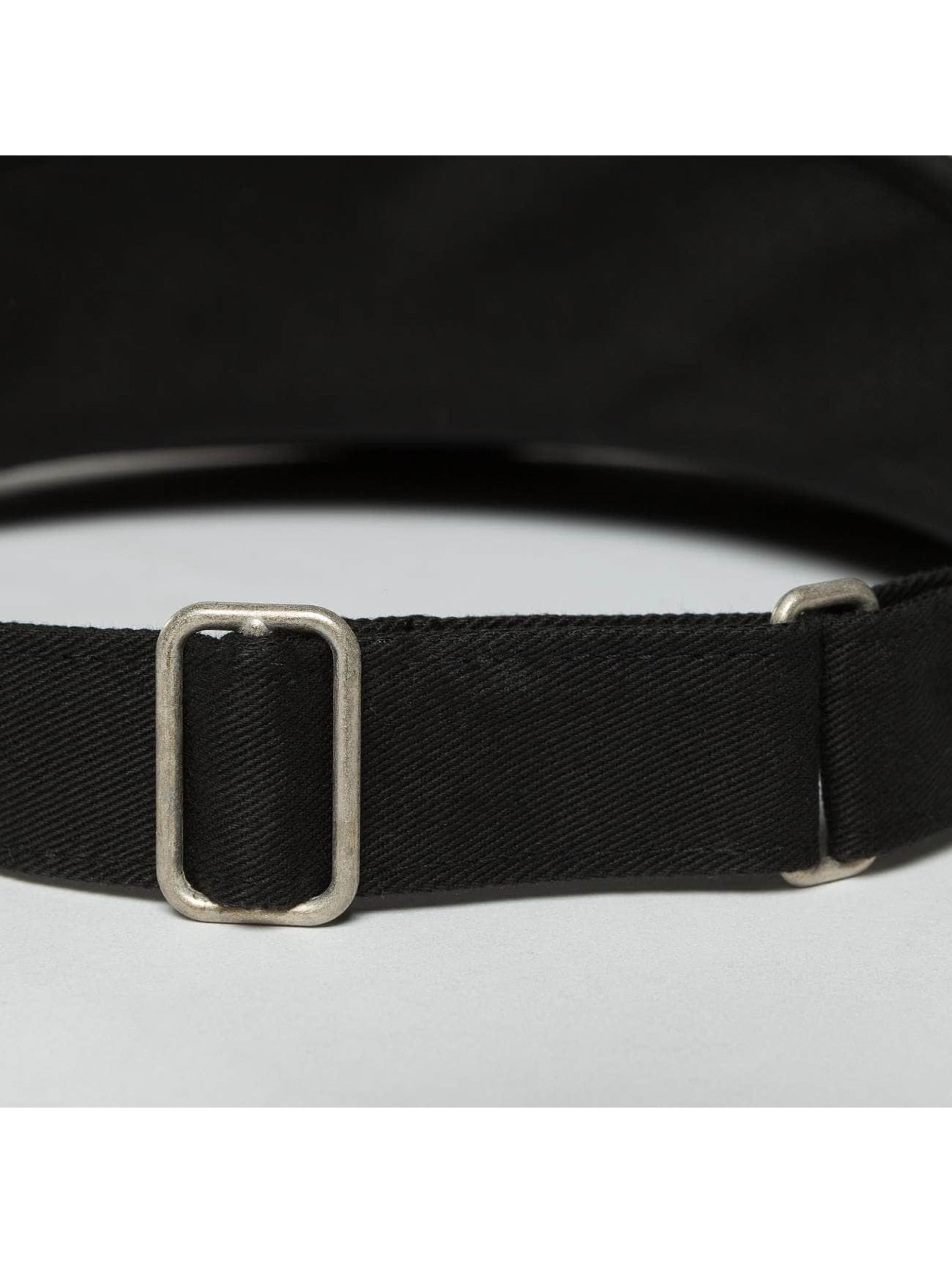 Flexfit Snapback Caps Flat Round Visor svart