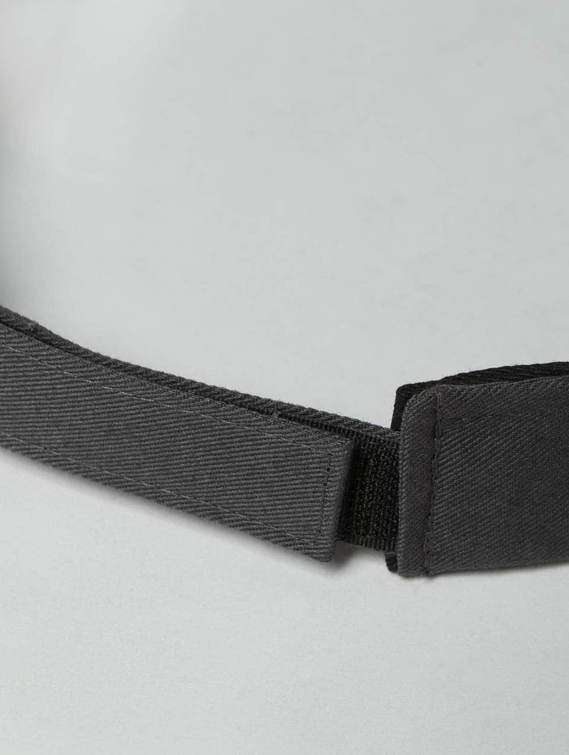 Flexfit Snapback Caps Curved Visor szary