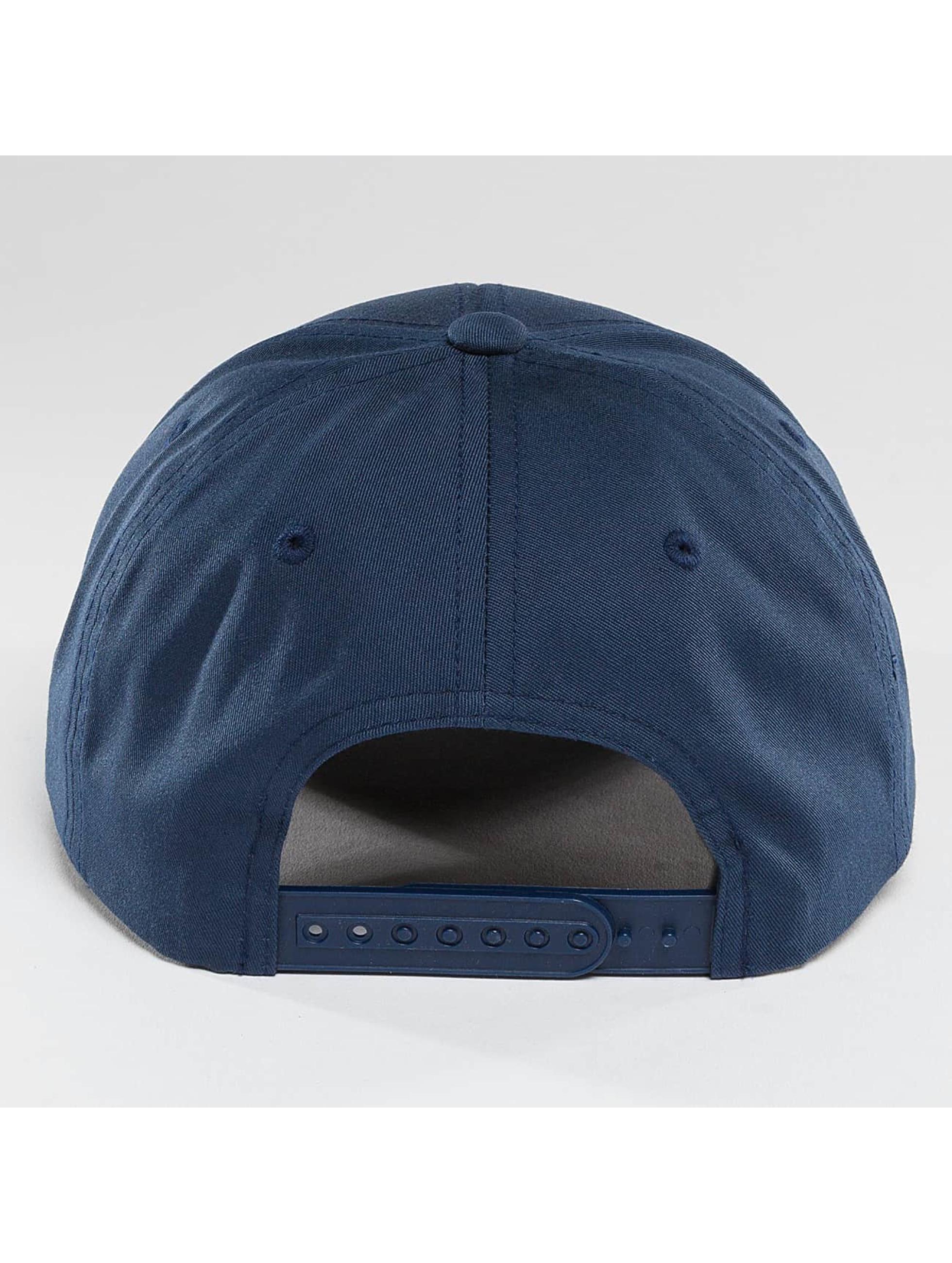 Flexfit Snapback Curved Classic modrá