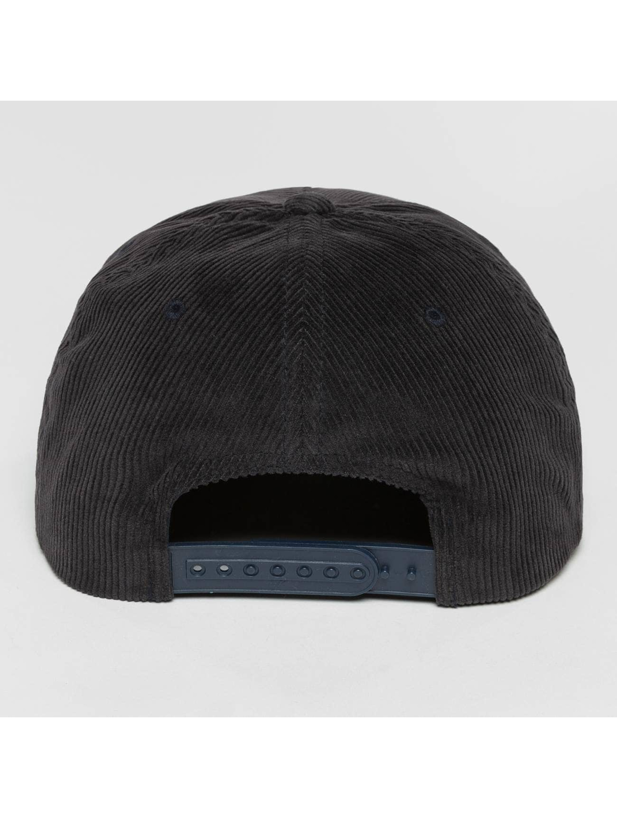 Flexfit Snapback Premium Corduroy modrá