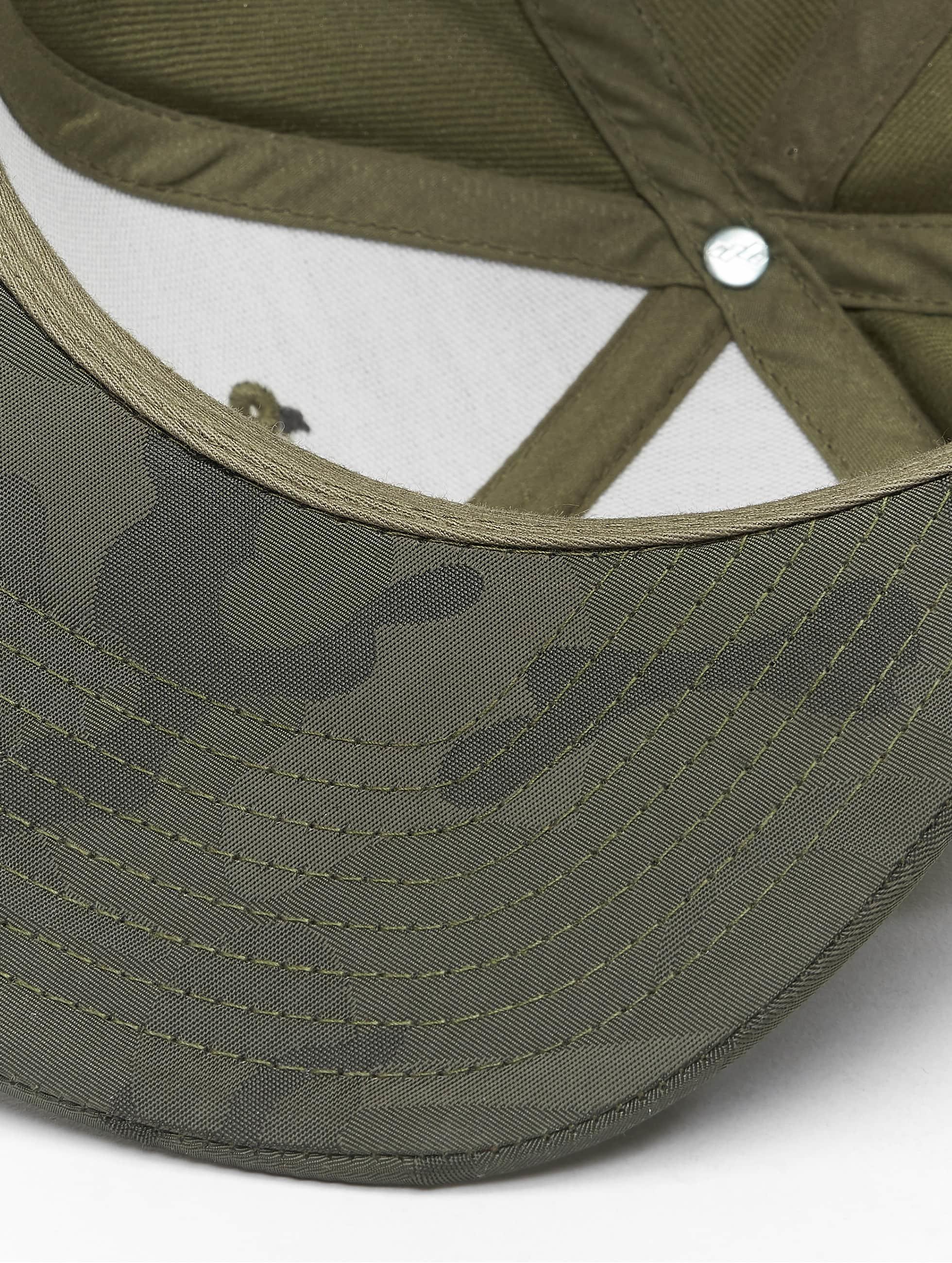 Flexfit Snapback Camo Visor olivová