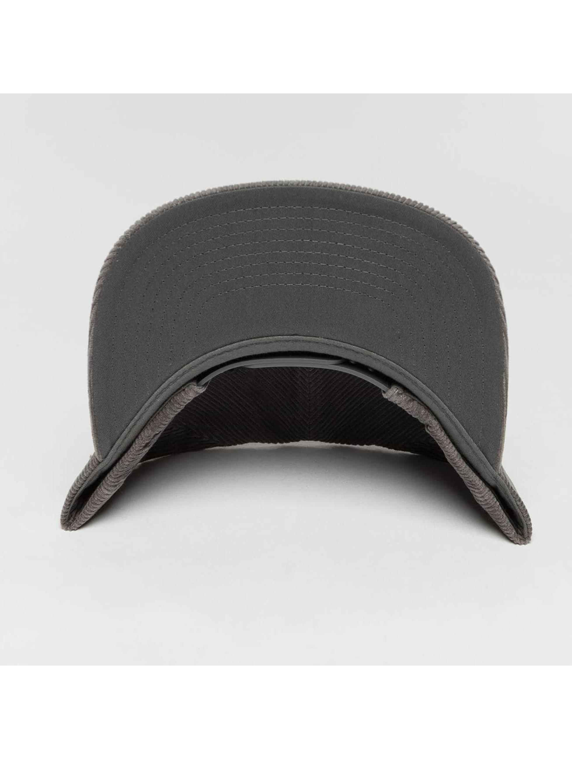 Flexfit Snapbackkeps Premium Corduroy grå