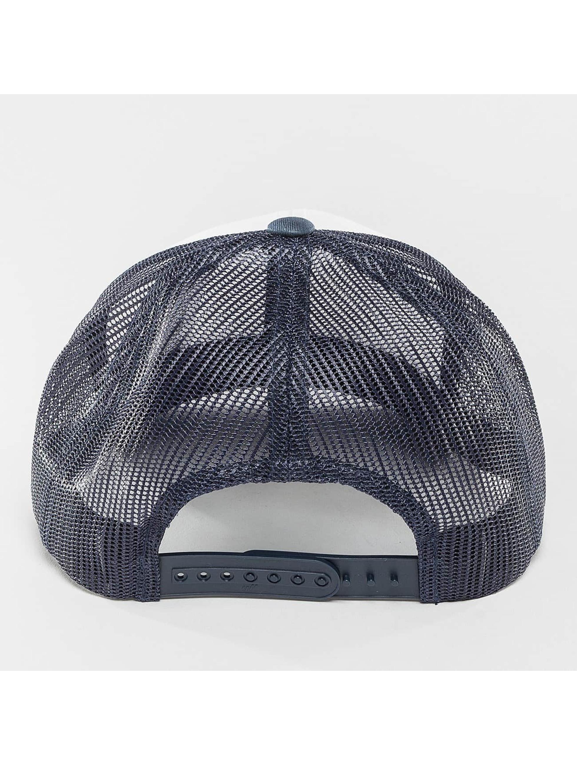 Flexfit trucker cap Retro Colored Front blauw