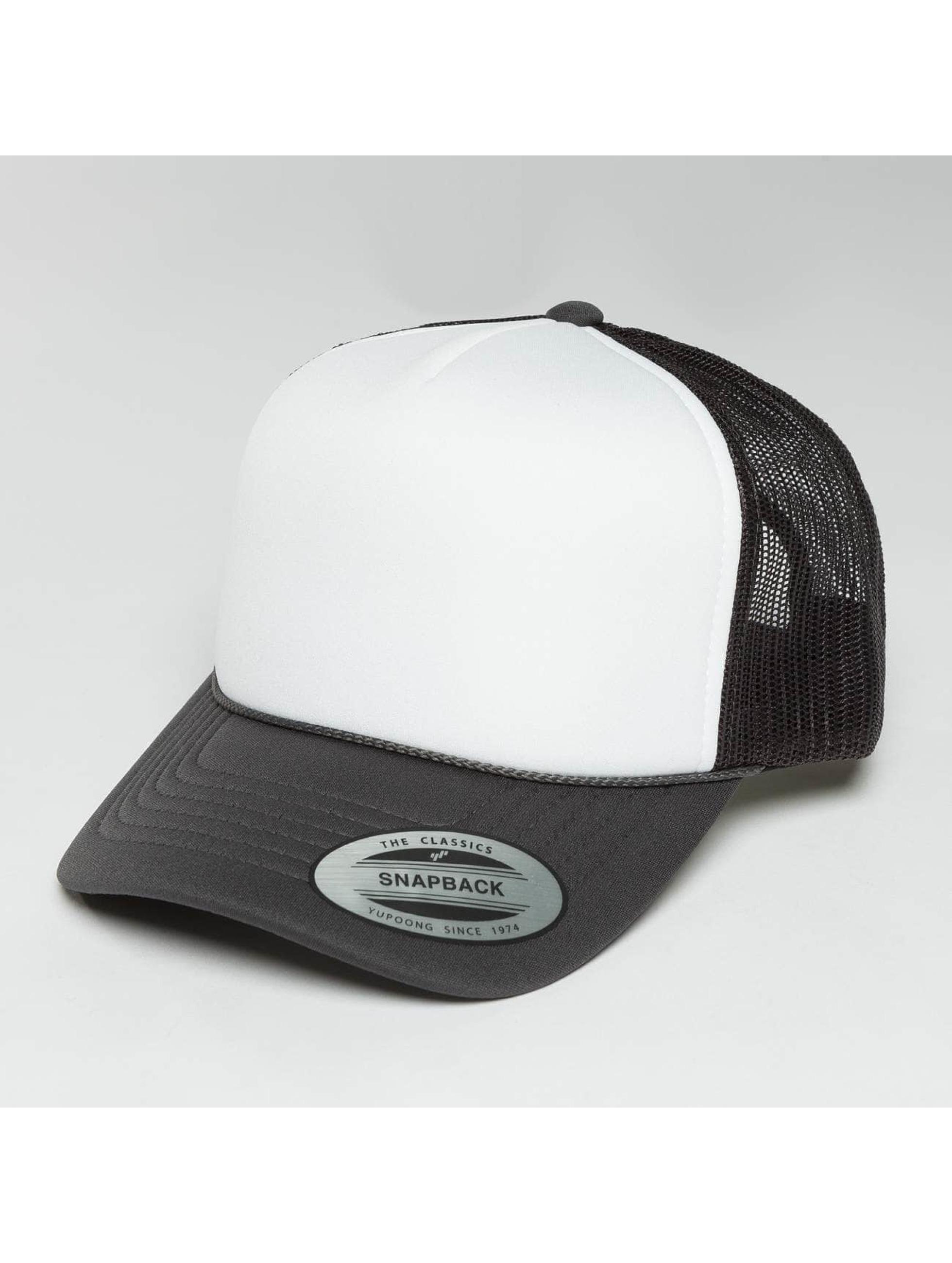 Flexfit Trucker Cap Curved Visor Foam grey