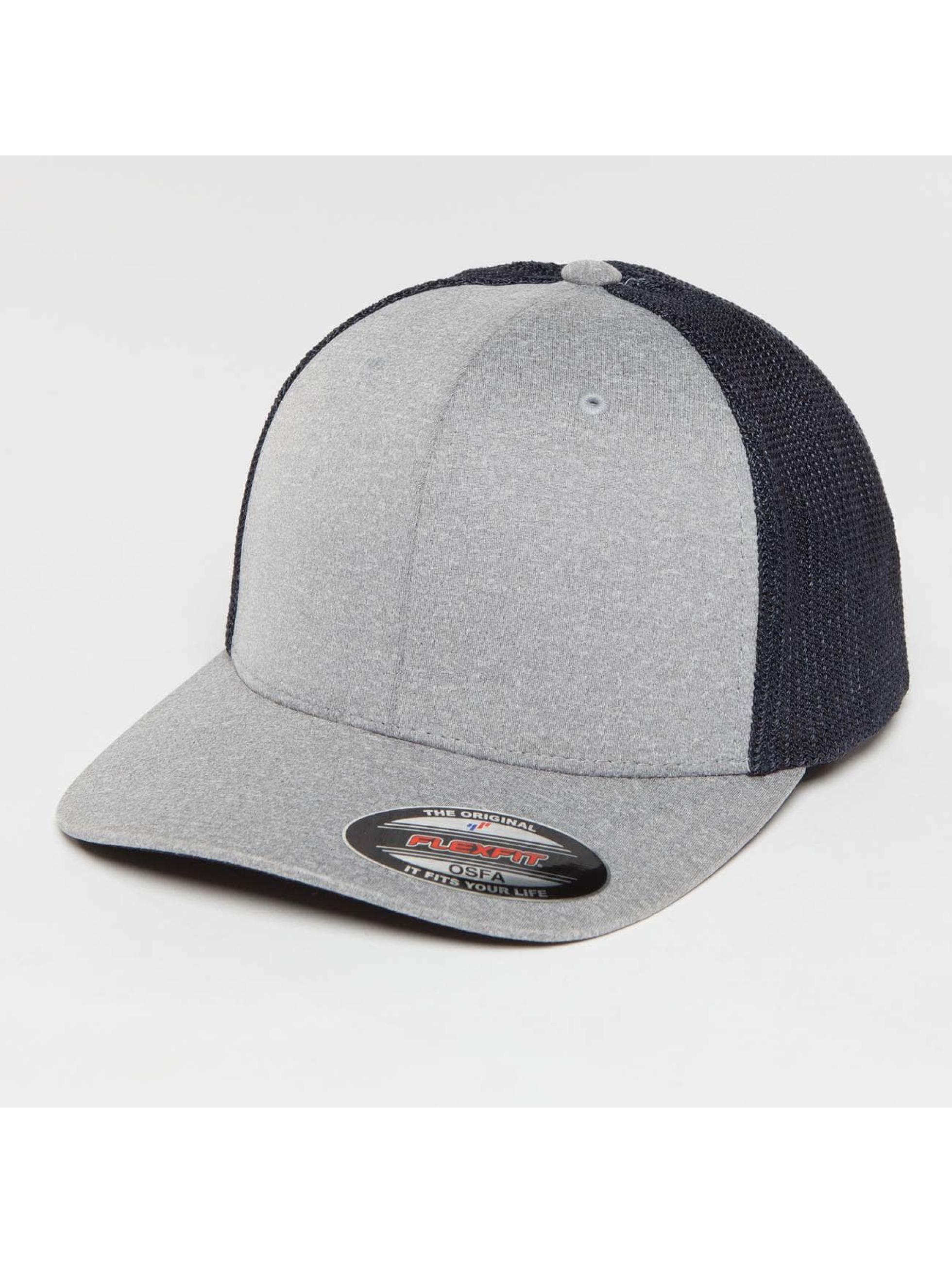 Flexfit Trucker Cap Melange grigio