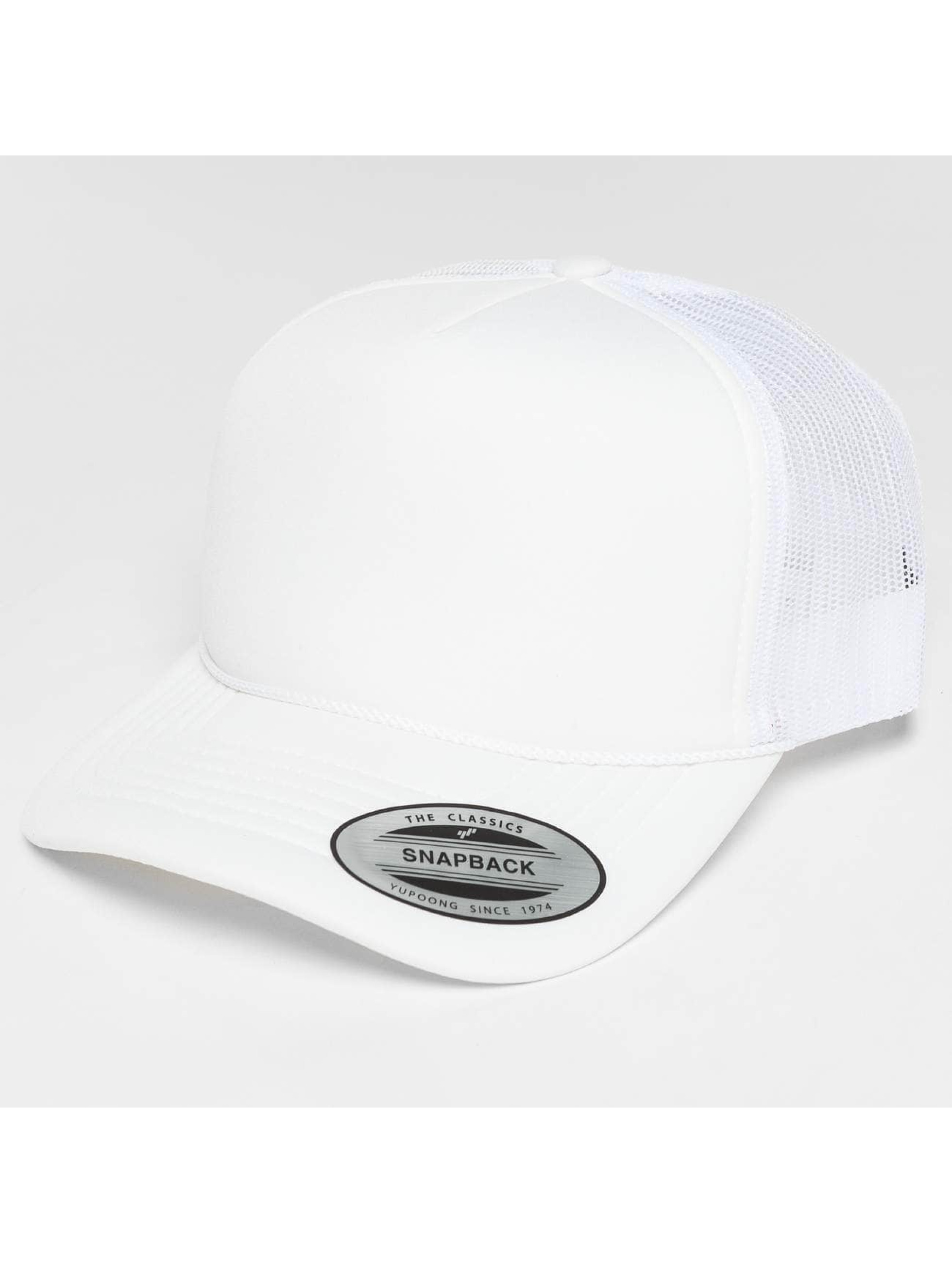 Flexfit Trucker Caps Curved Visor Foam blå