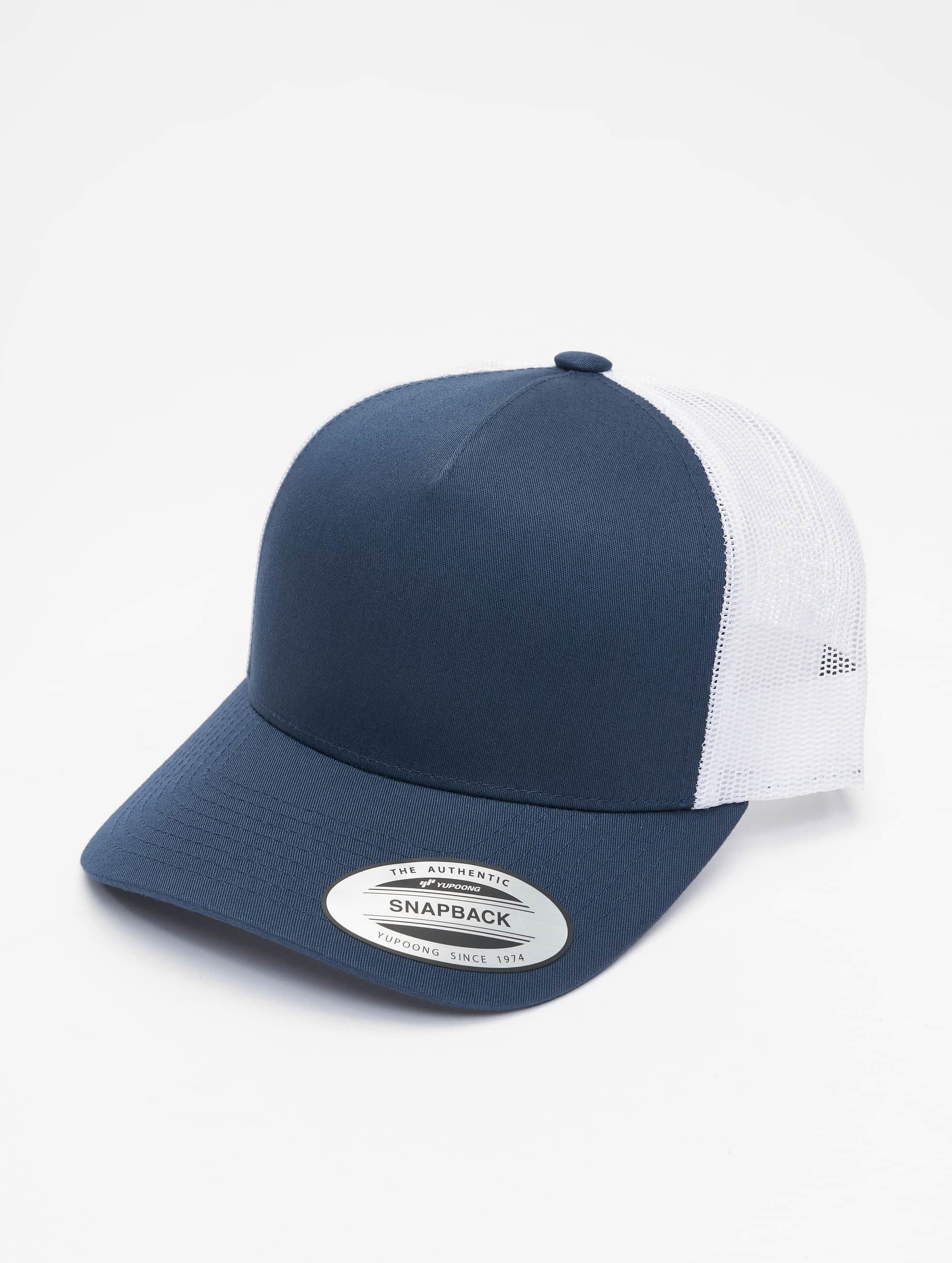 Flexfit Trucker Caps 2-Tone Retro blå