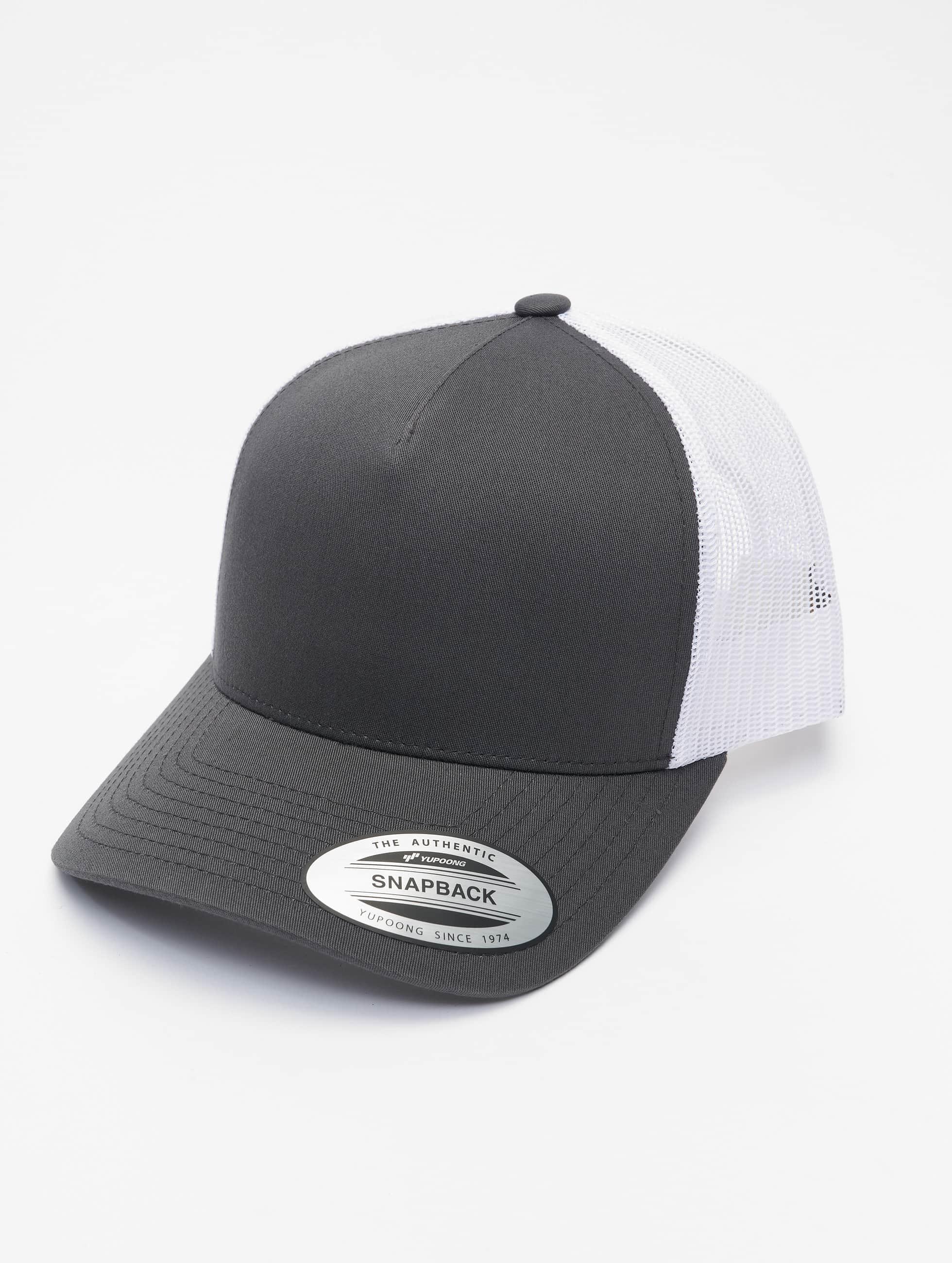 Flexfit Trucker Caps 2-Tone Retro grå