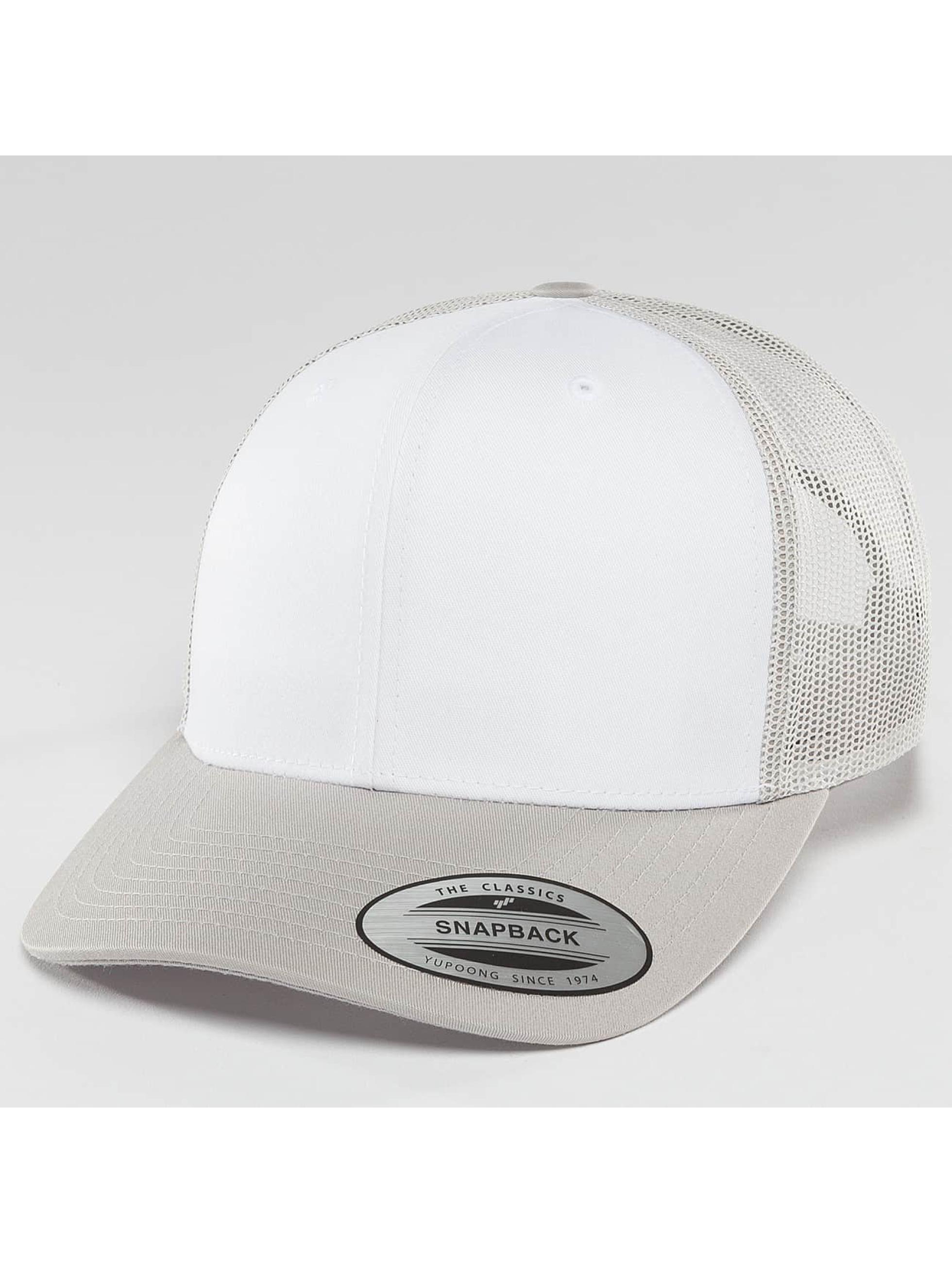 Flexfit Trucker Caps Retro sølv