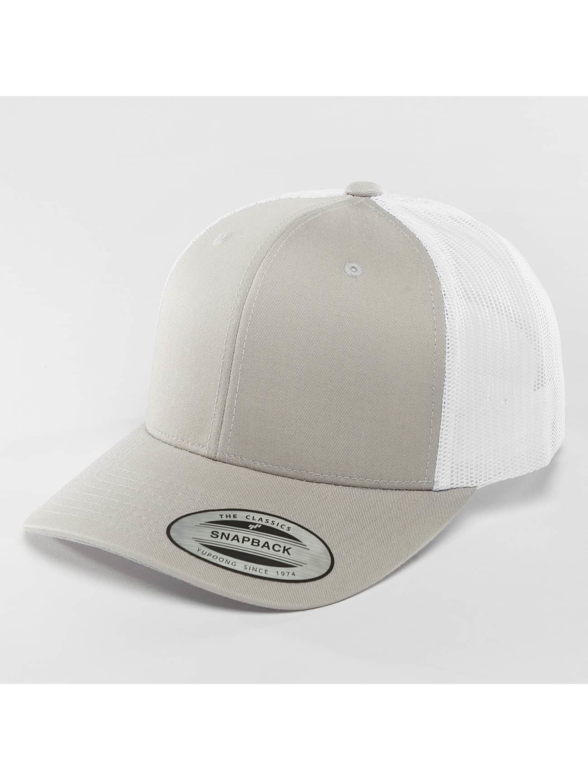 Flexfit Trucker Caps Retro Two Tone sølv