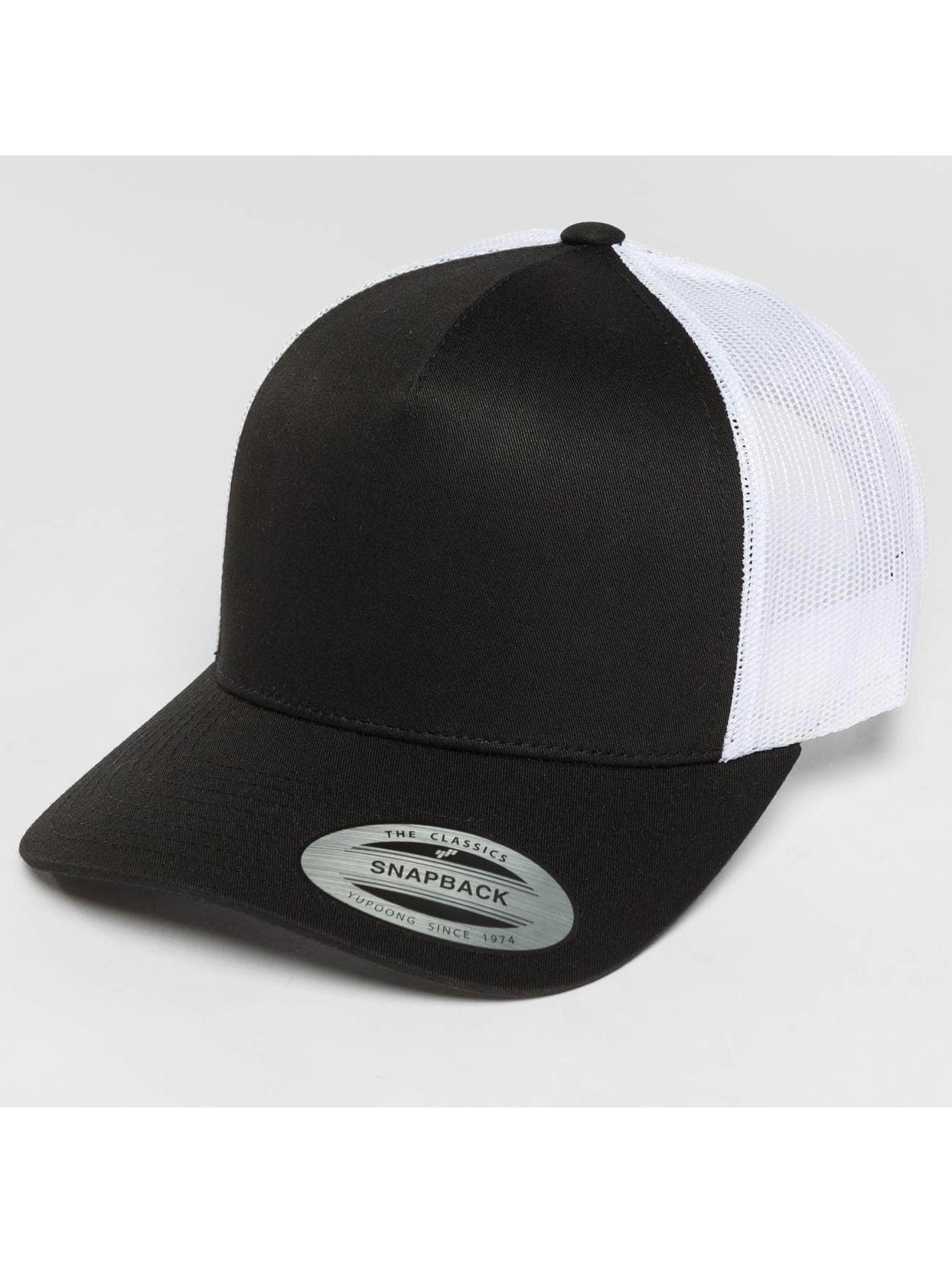 Flexfit Trucker Caps 2-Tone Retro svart