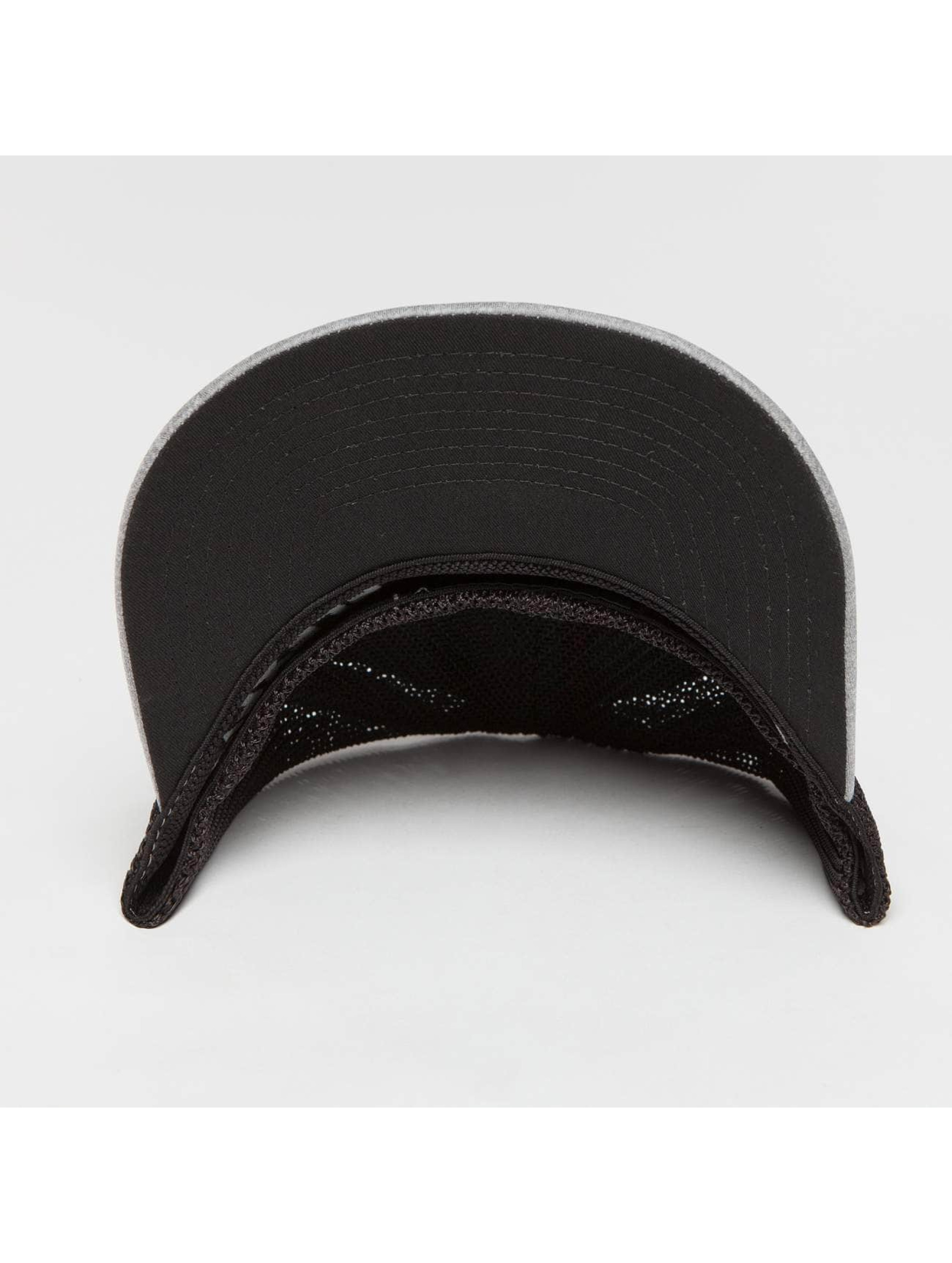 Flexfit Trucker Caps Melange szary