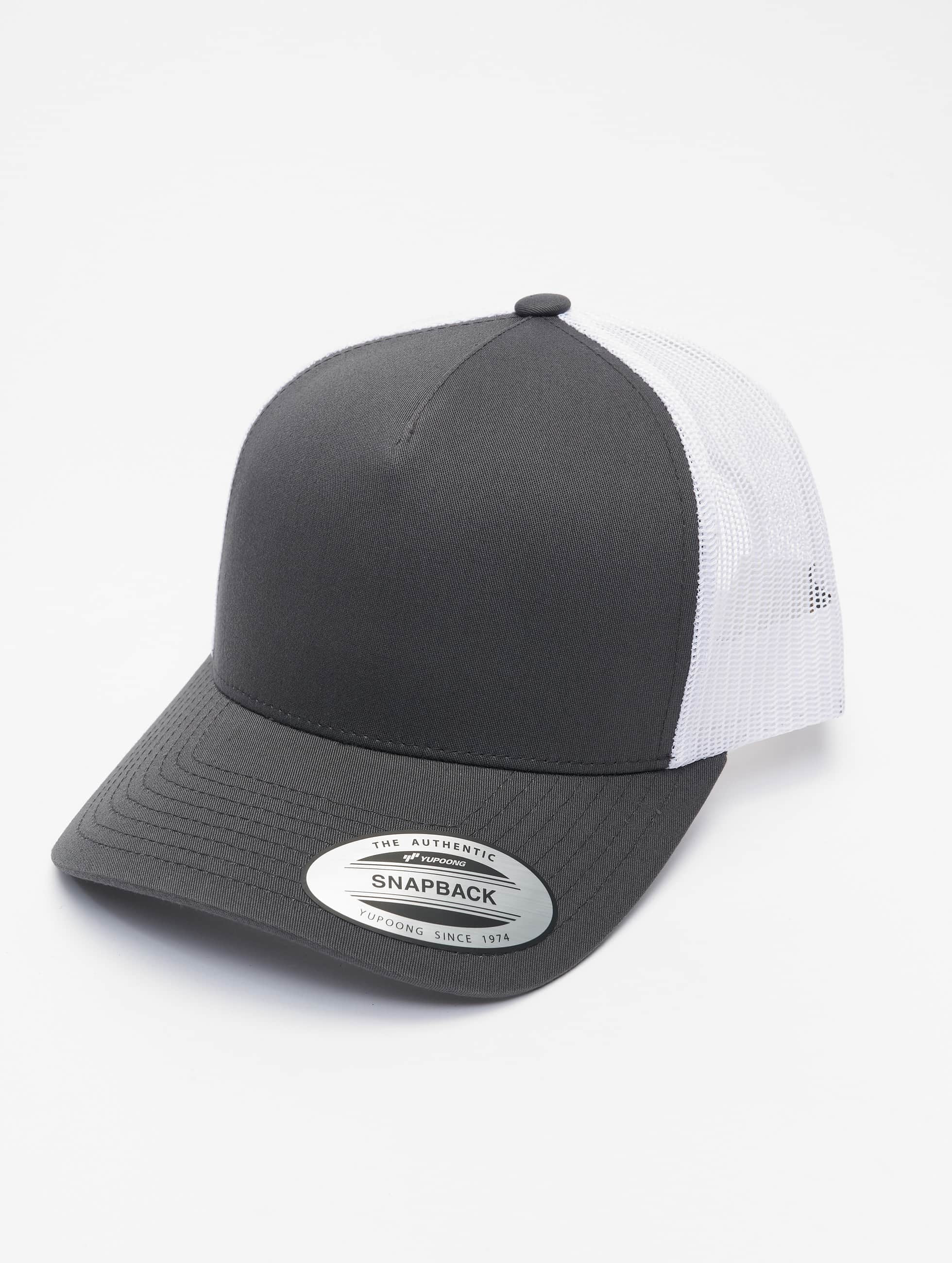 Flexfit Trucker Caps 2-Tone Retro szary