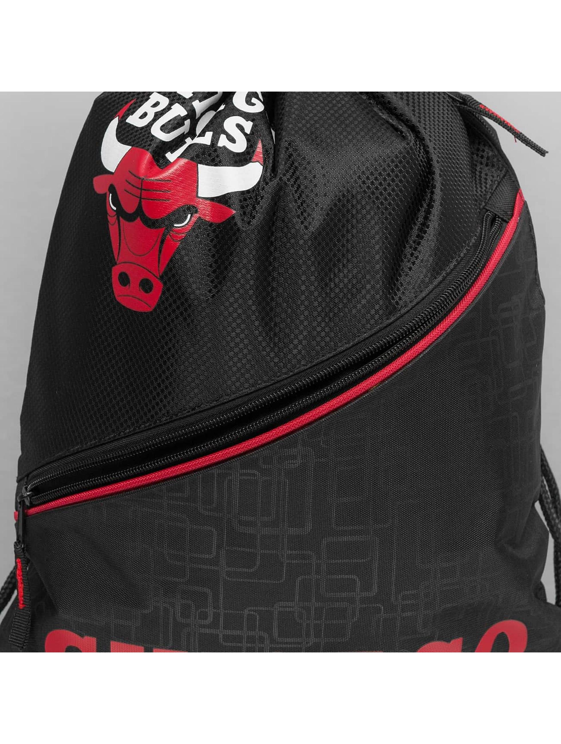 Forever Collectibles Batohy do mesta NBA Diagonal Zip Drawstring Chicago Bulls èierna