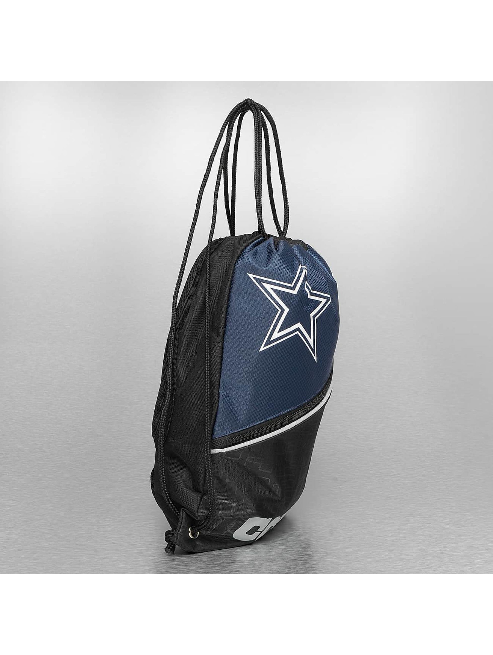 Forever Collectibles Batohy do mesta NFL Diagonal Zip Drawstring Dallas Cowboys èierna