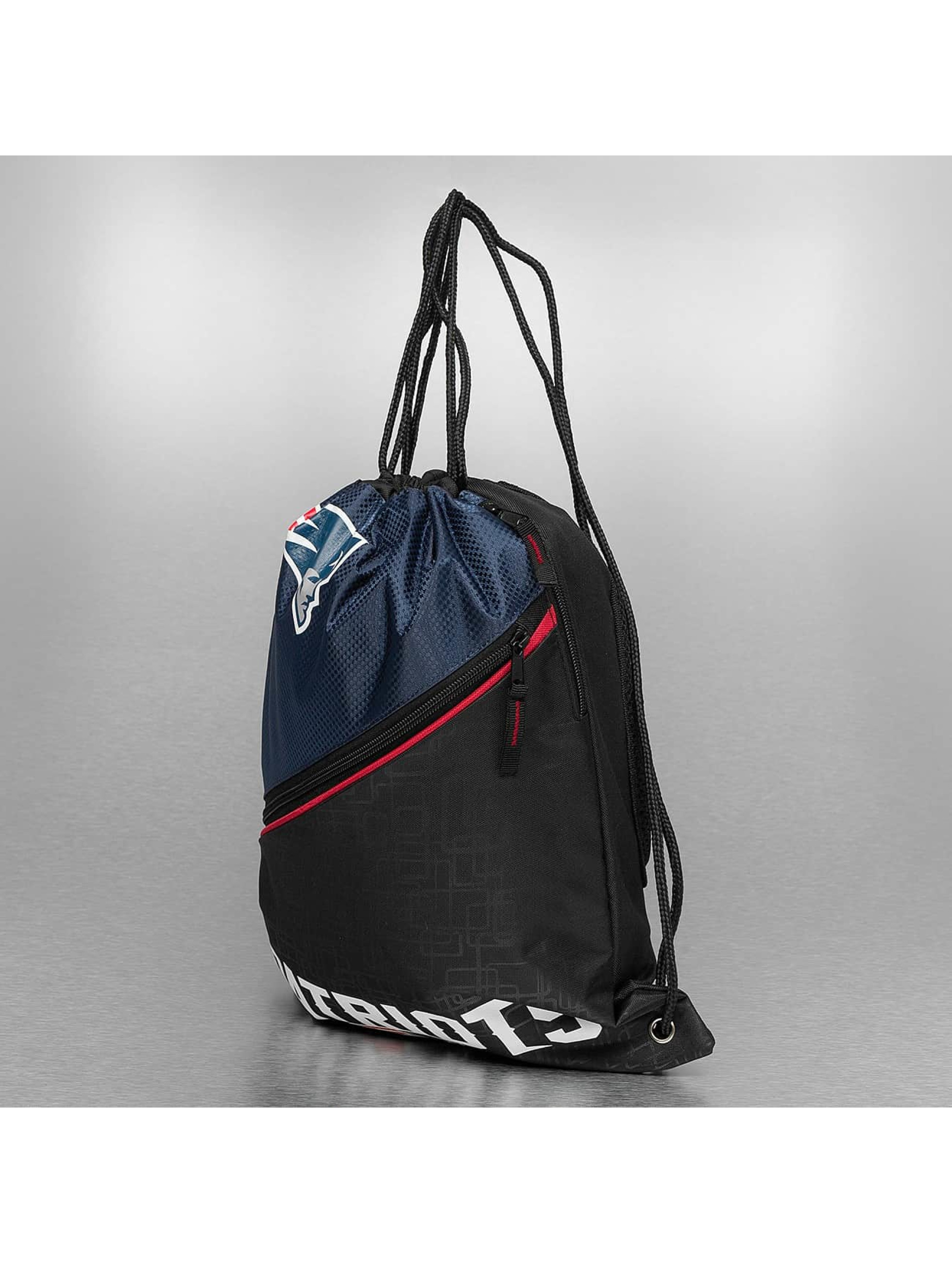 Forever Collectibles Batohy do mesta NFL Diagonal Zip Drawstring New England Patriots èierna