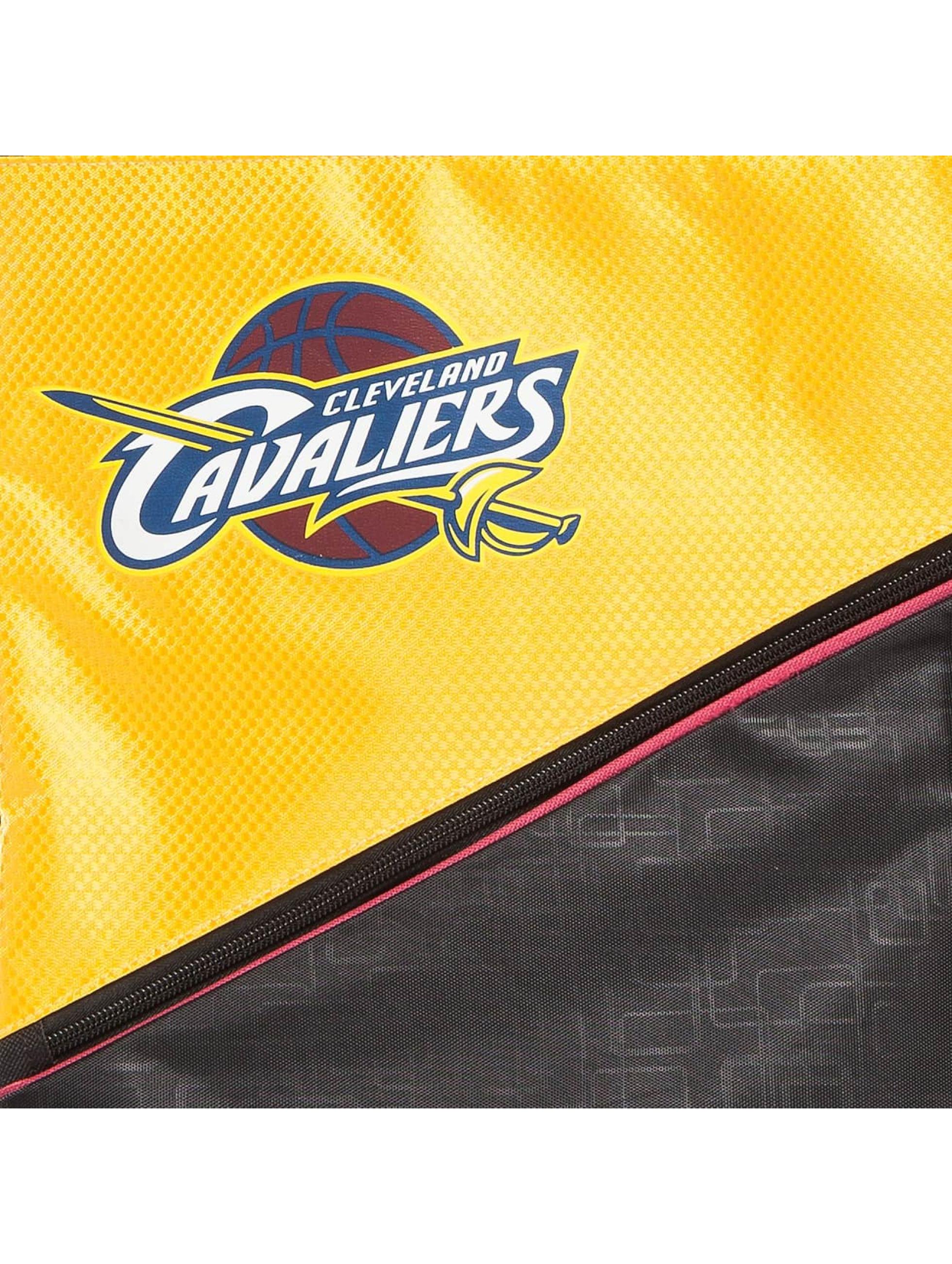 Forever Collectibles Gymnastikpose NBA Diagonal Zip Drawstring Cavaliers sort