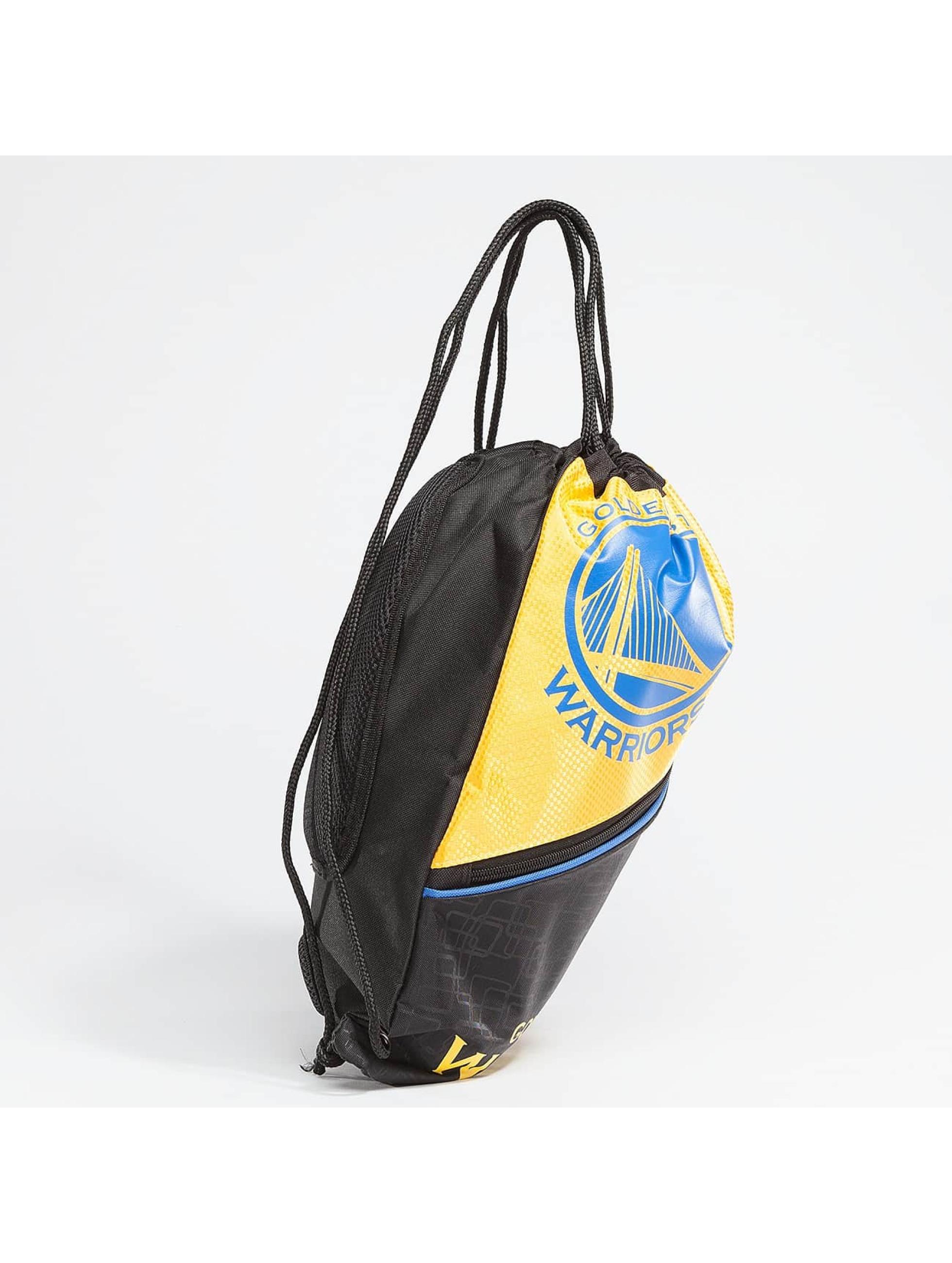 Forever Collectibles Gymnastikpose NBA Diagonal Zip Drawstring Warriors sort
