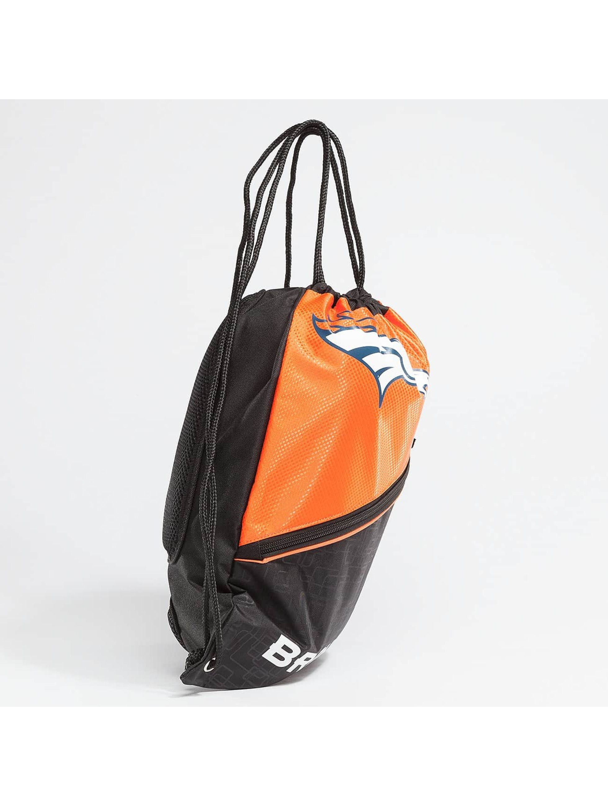 Forever Collectibles Pouch NFL Diagonal Zip Drawstring Broncos black