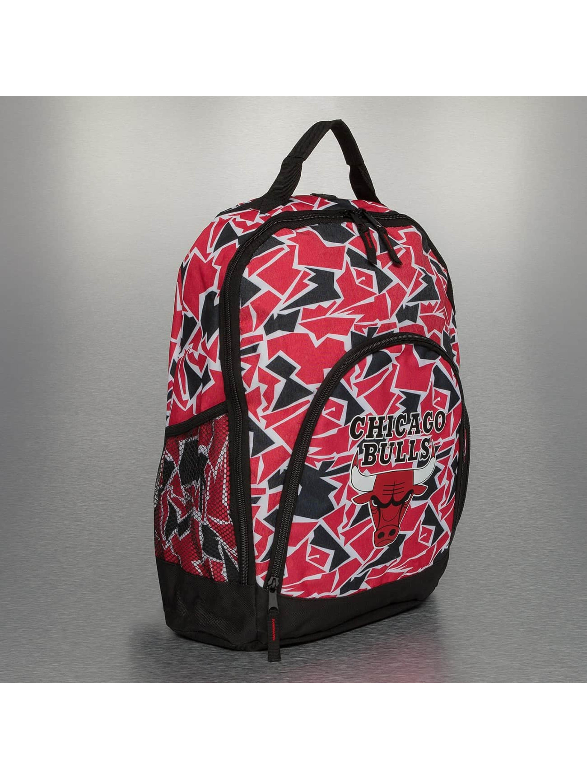 Forever Collectibles Rucksack NBA Camouflage Chicago Bulls rot