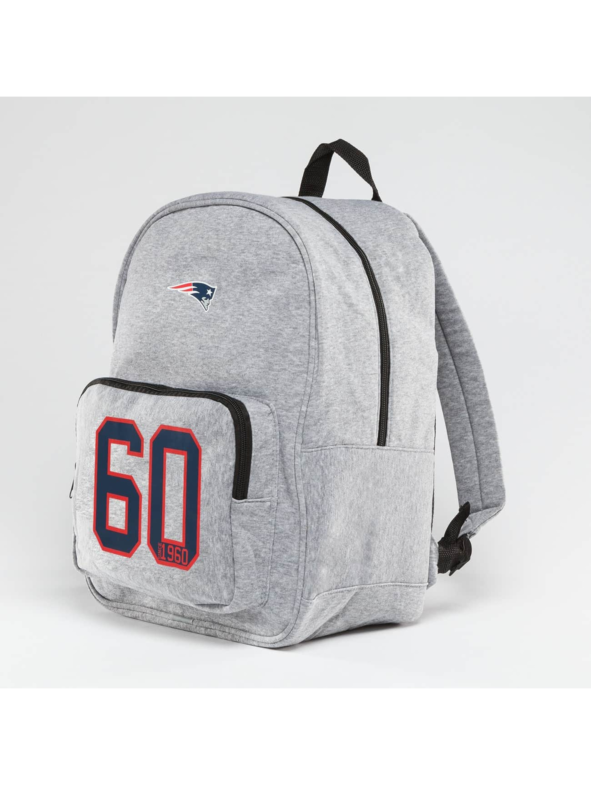 Forever Collectibles Ryggsäck NFL New England Patriots grå