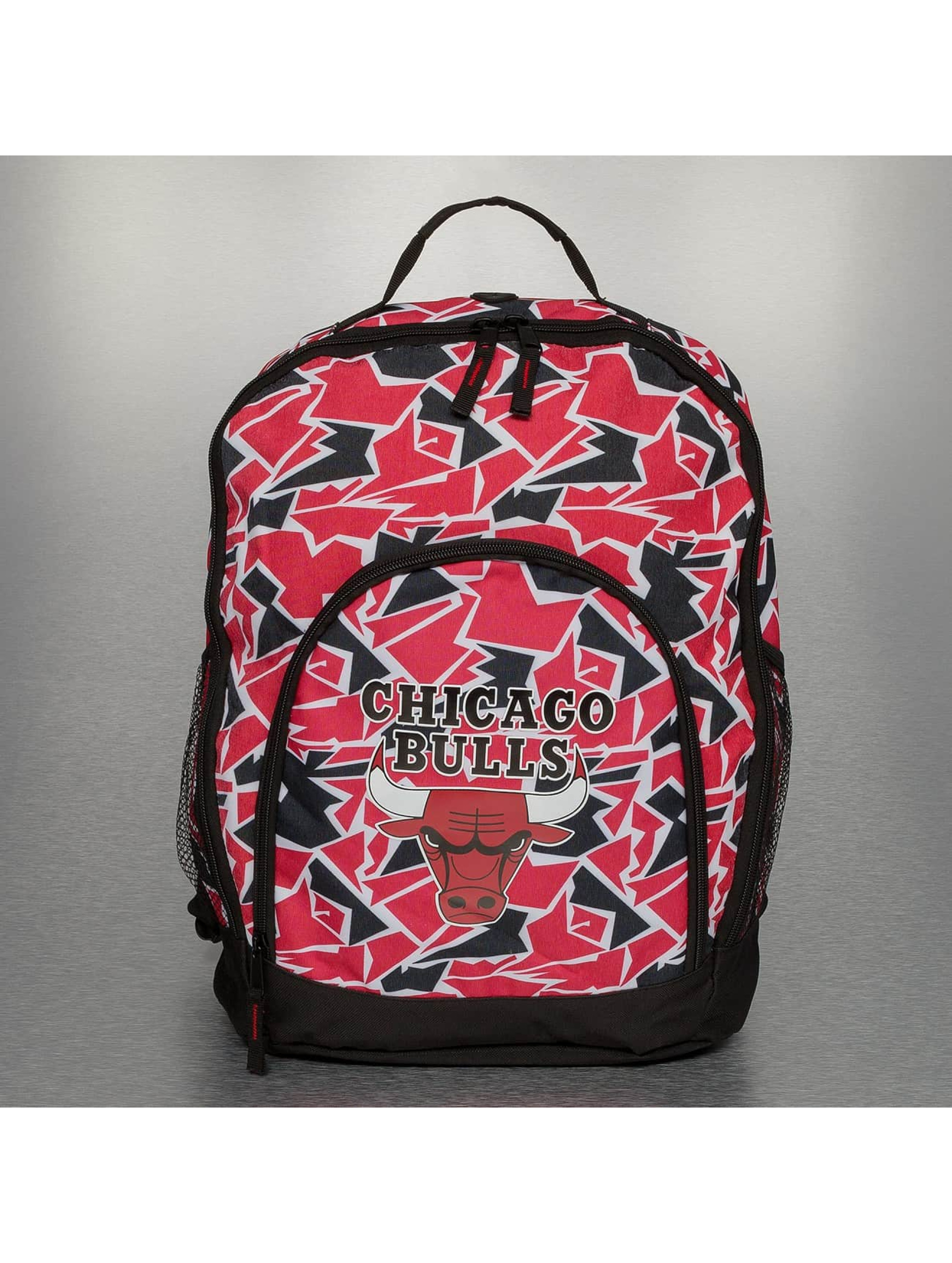Forever Collectibles Ryggsekker NBA Camouflage Chicago Bulls red