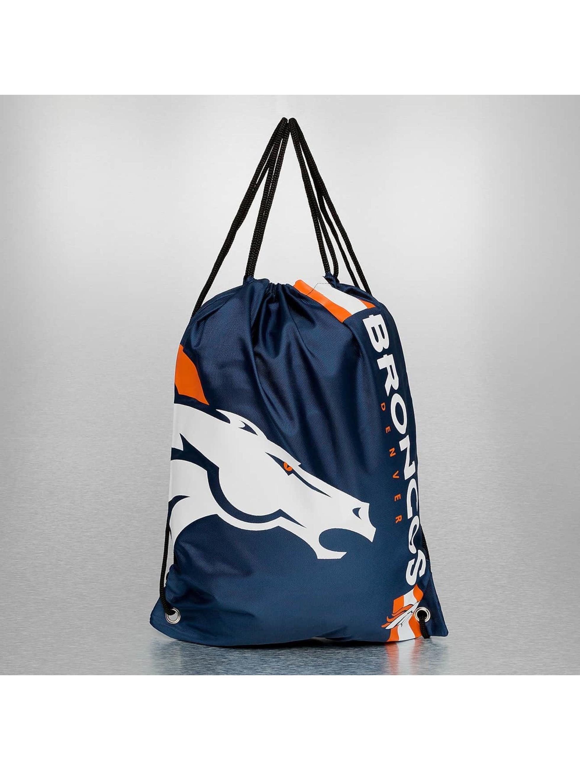 Forever Collectibles Sac à cordons NFL Cropped Logo Denver Broncos bleu