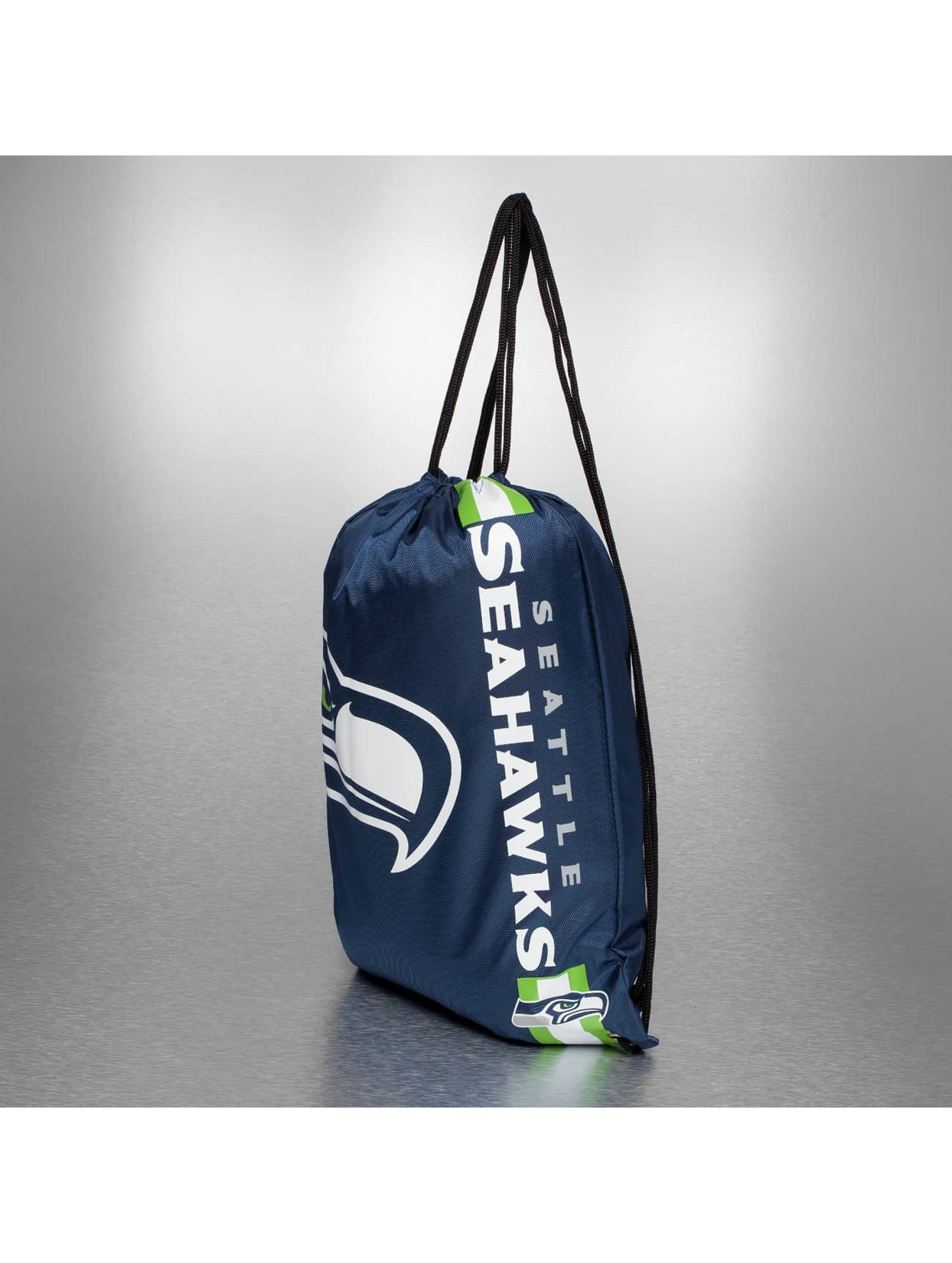 Forever Collectibles Sac à cordons NFL Cropped Logo Seattle Seahawks bleu