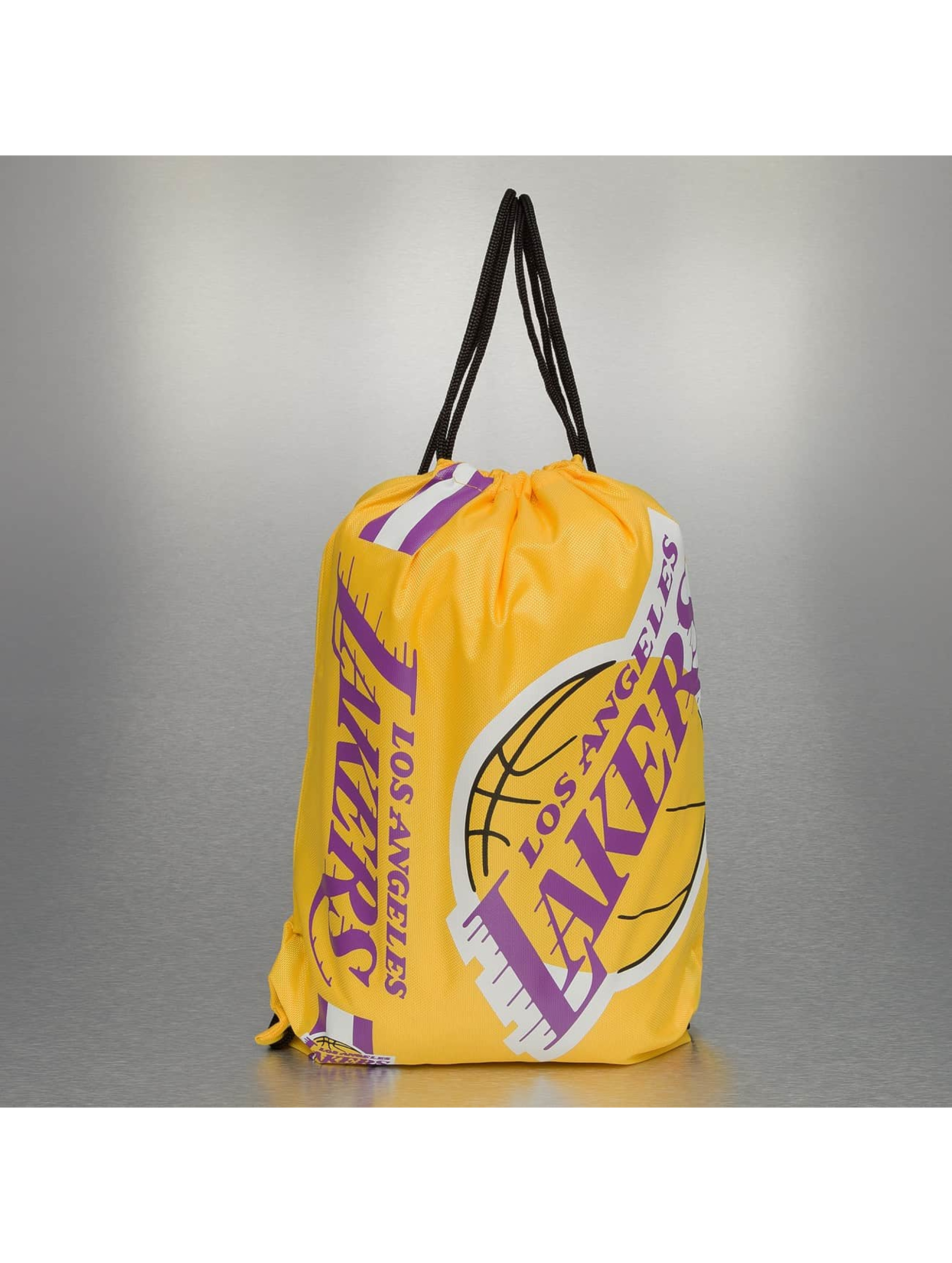Forever Collectibles Sac à cordons NBA Cropped Logo LA Lakers jaune