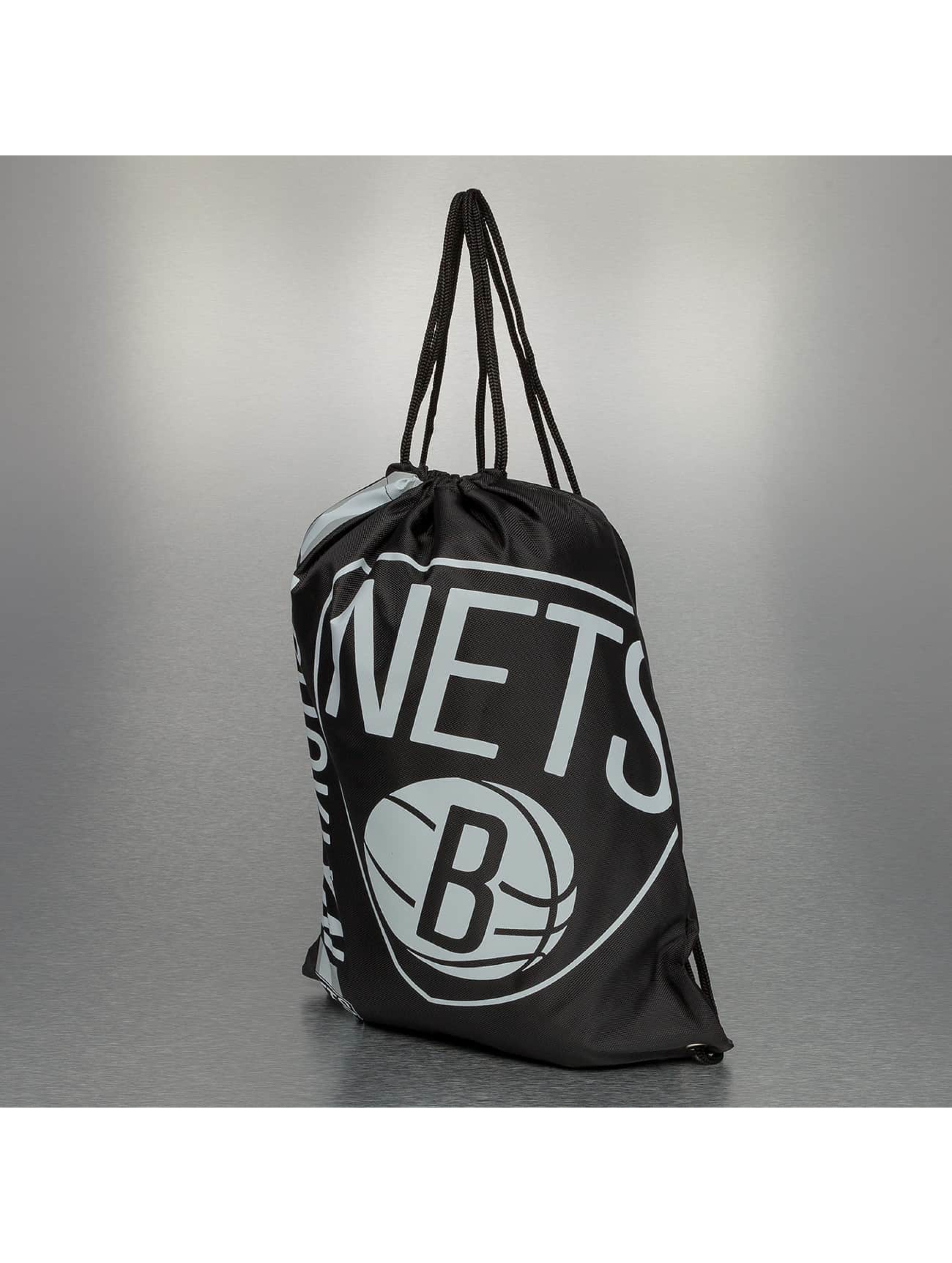 Forever Collectibles Sac à cordons NBA Cropped Logo Brooklyn Nets noir