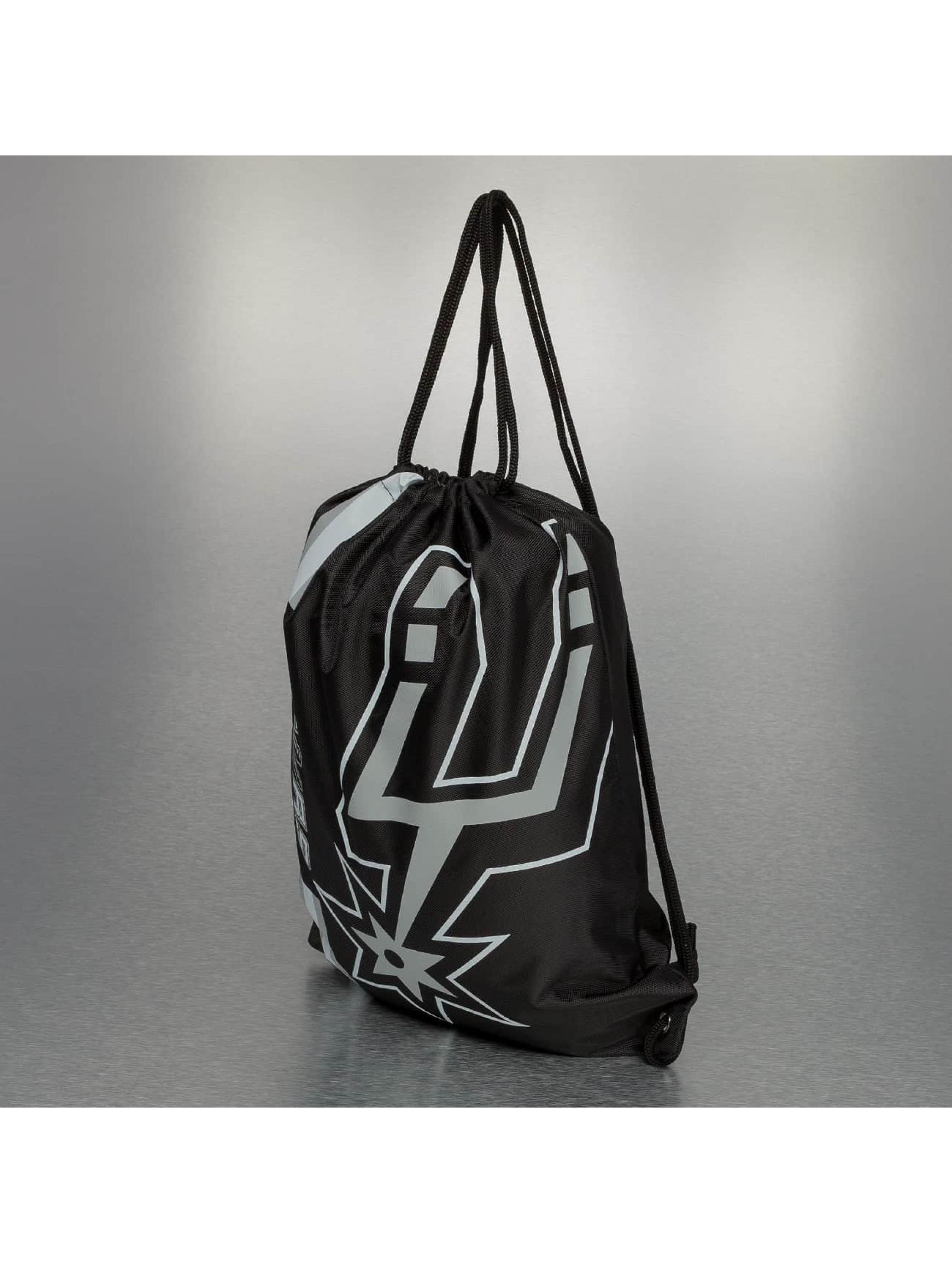 Forever Collectibles Sac à cordons Collectibles NBA Cropped Logo San Antonio Spurs noir