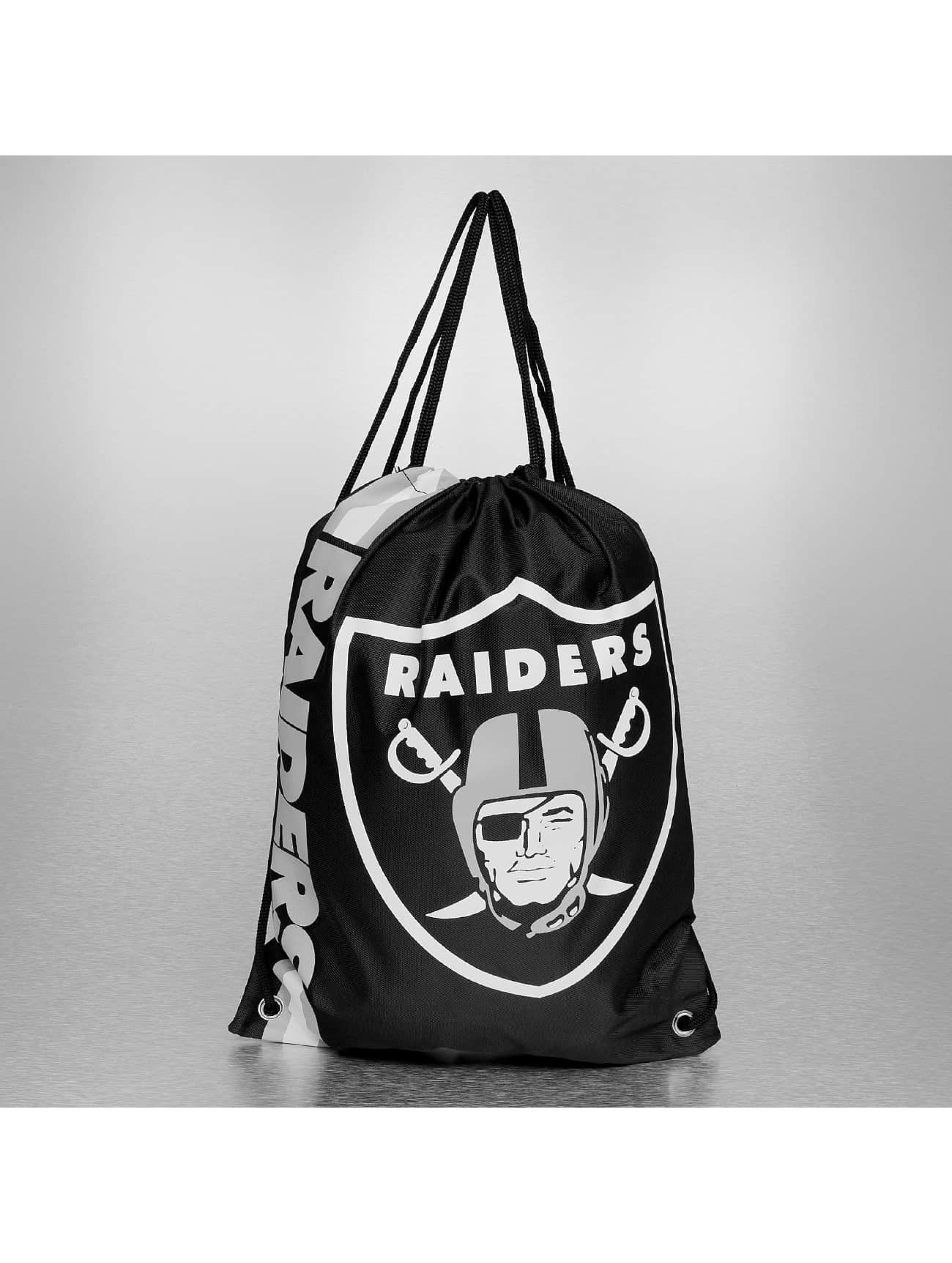 Forever Collectibles Sac à cordons NFL Cropped Logo LA Raiders noir
