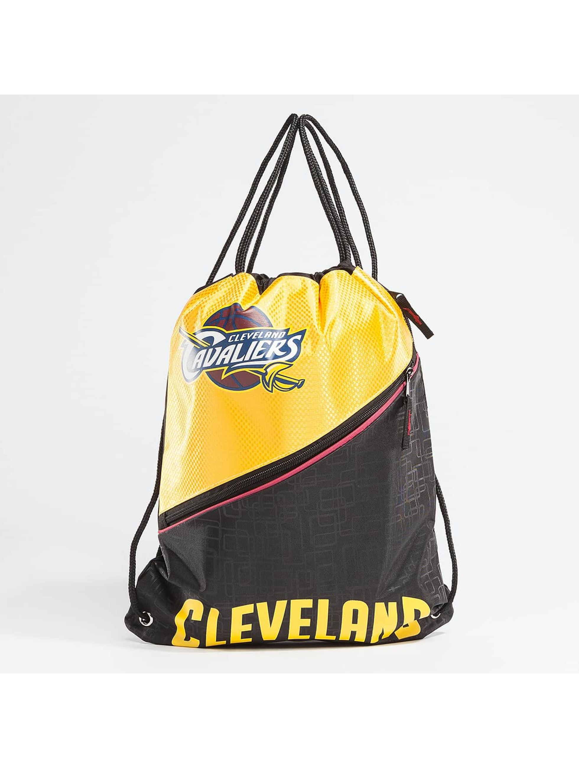 Forever Collectibles Sac à cordons NBA Diagonal Zip Drawstring Cavaliers noir
