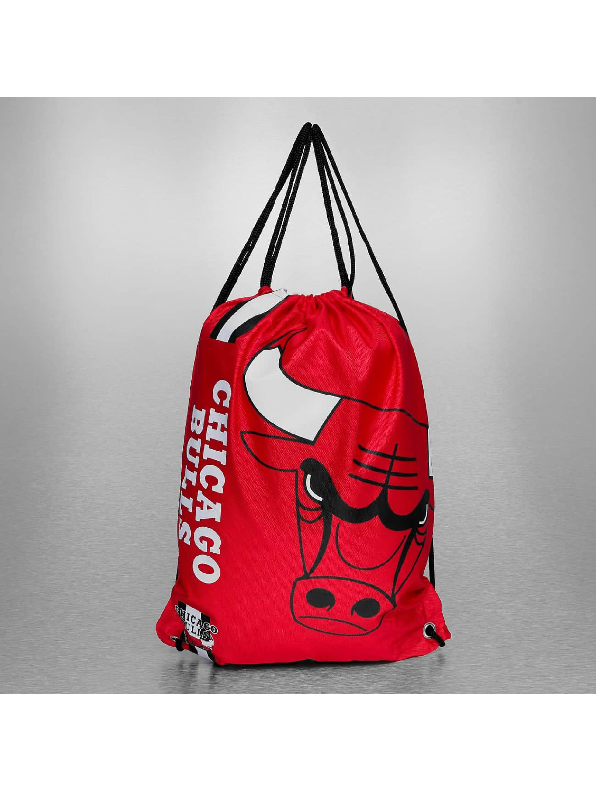 Forever Collectibles Sac à cordons NBA Cropped Logo Chicago Bulls rouge