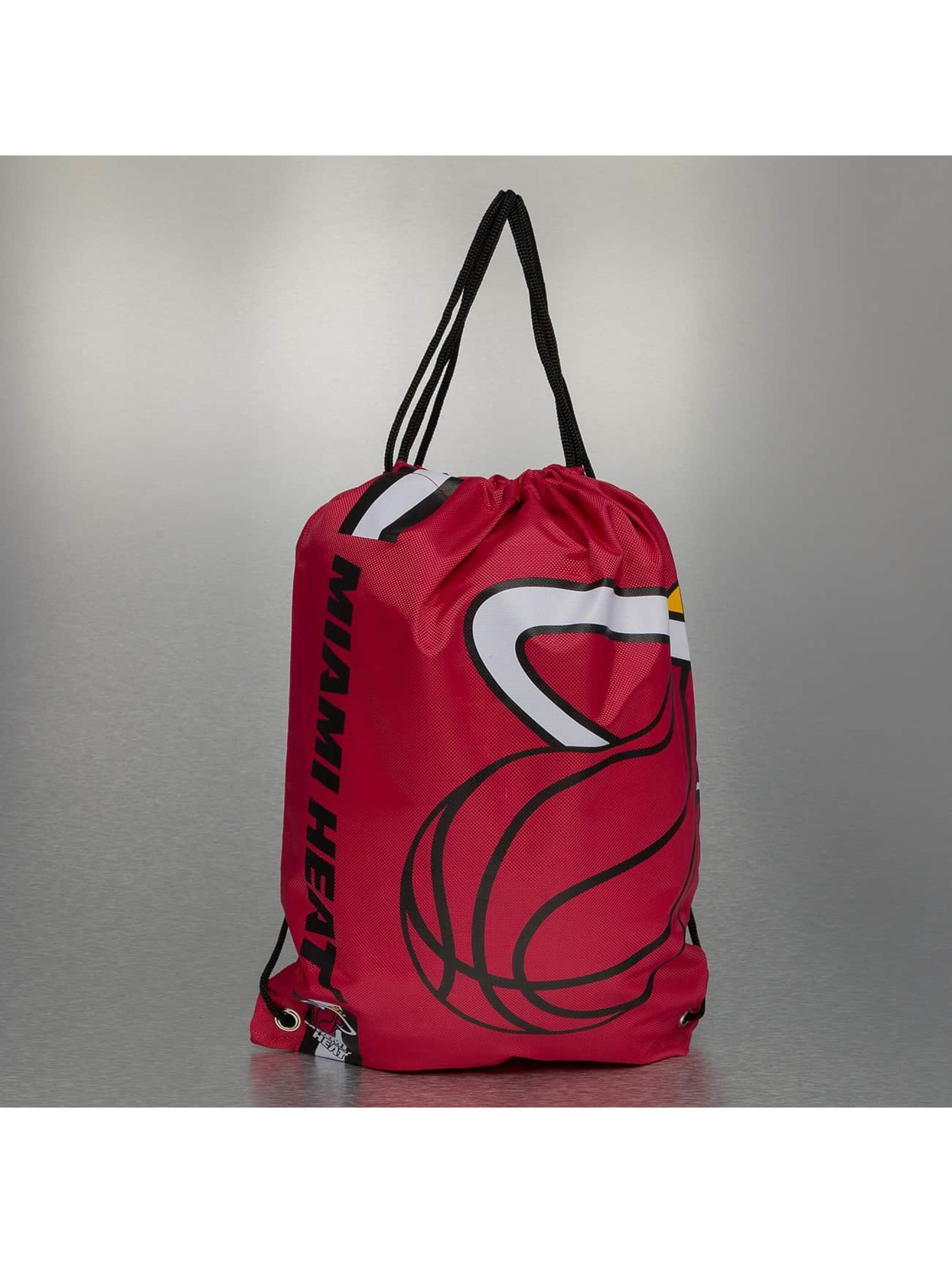 Forever Collectibles Sac à cordons NBA Cropped Logo Miami rouge