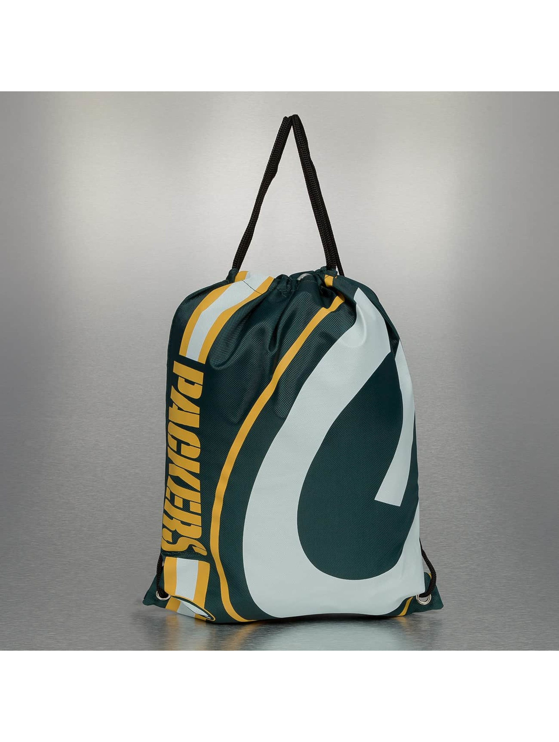 Forever Collectibles Sac à cordons NFL Cropped Logo Green Bay Packers vert