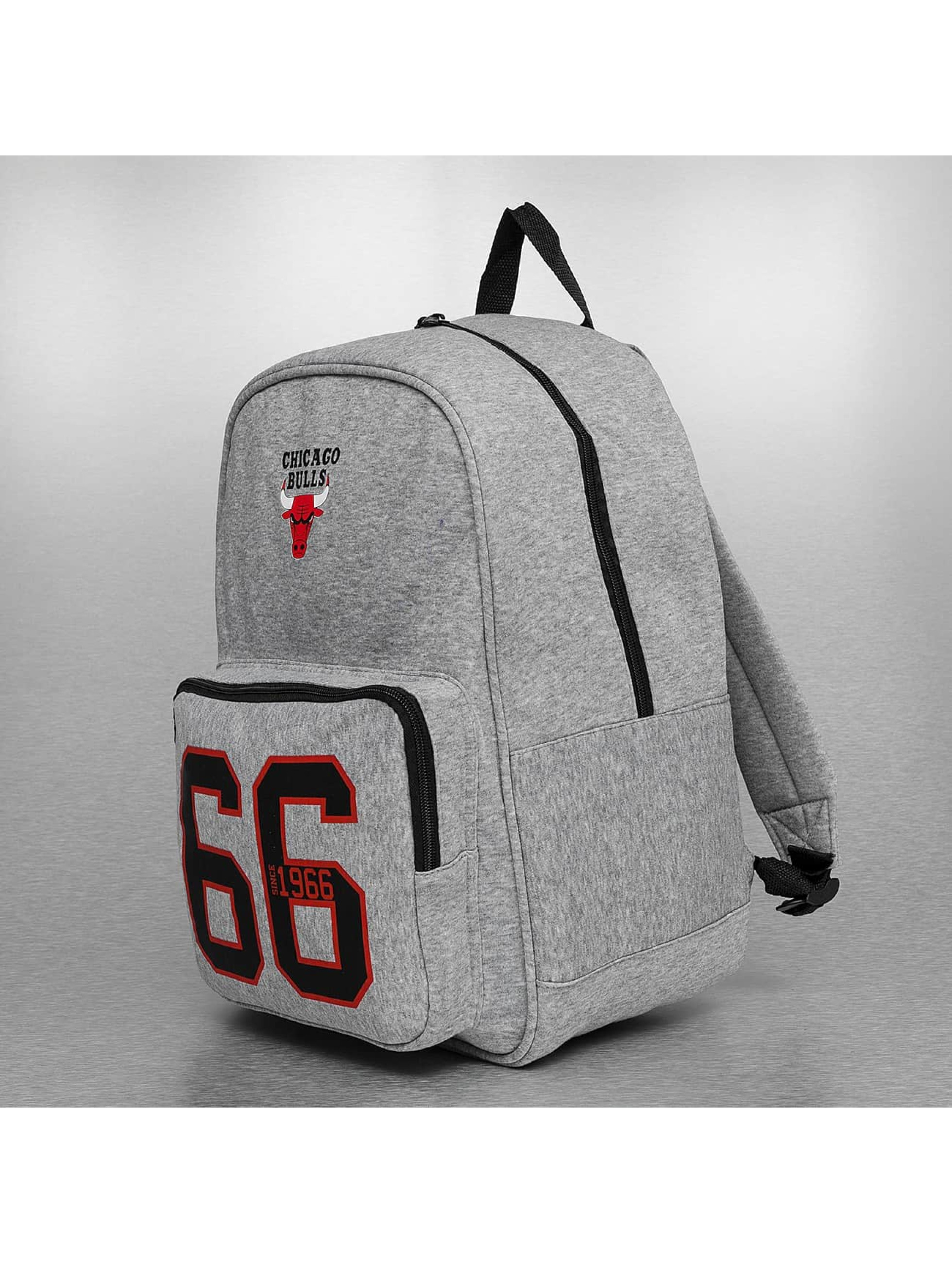 Forever Collectibles Sac à Dos NBA Chicago Bulls gris