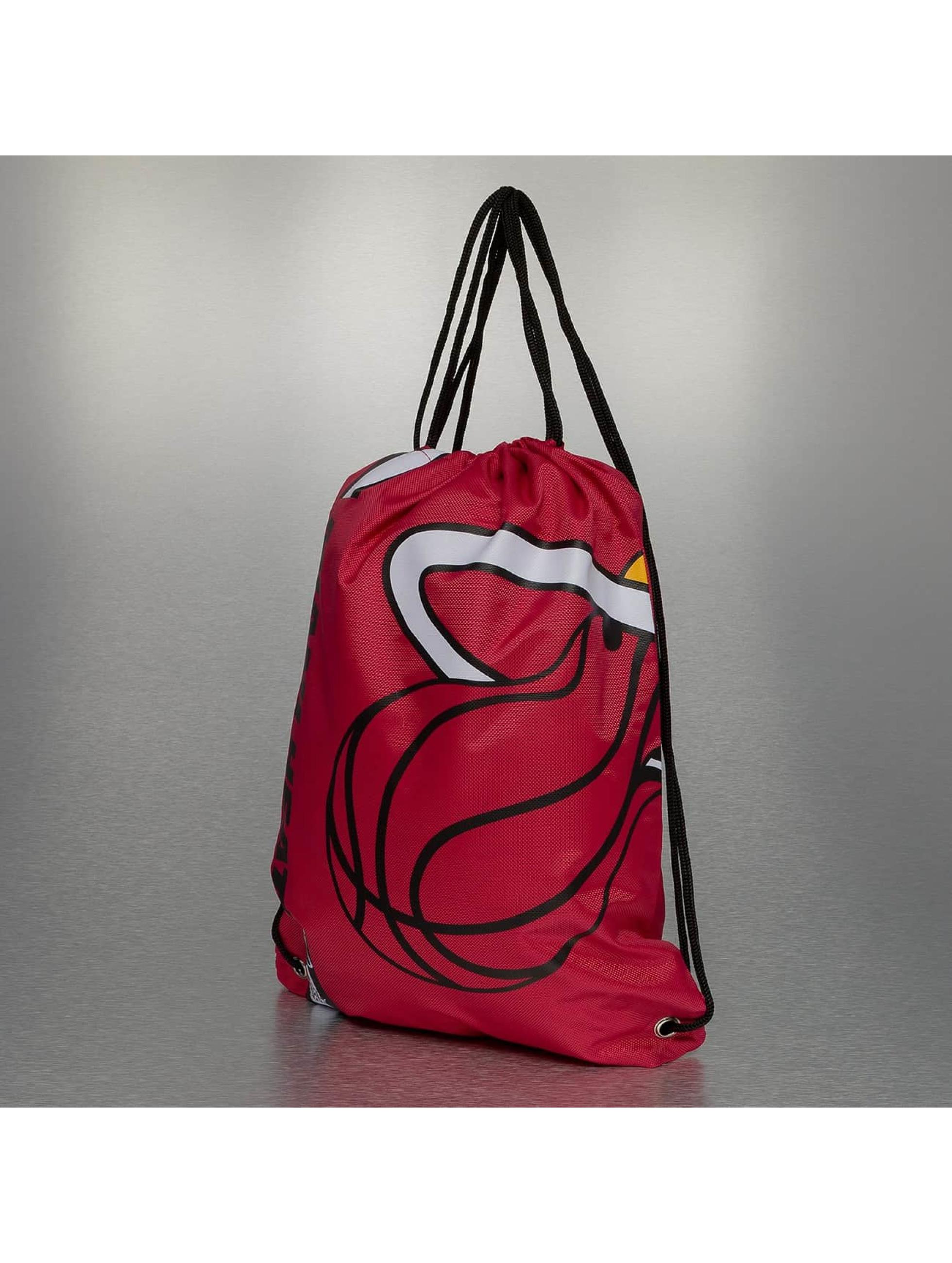 Forever Collectibles Sacchetto NBA Cropped Logo Miami rosso