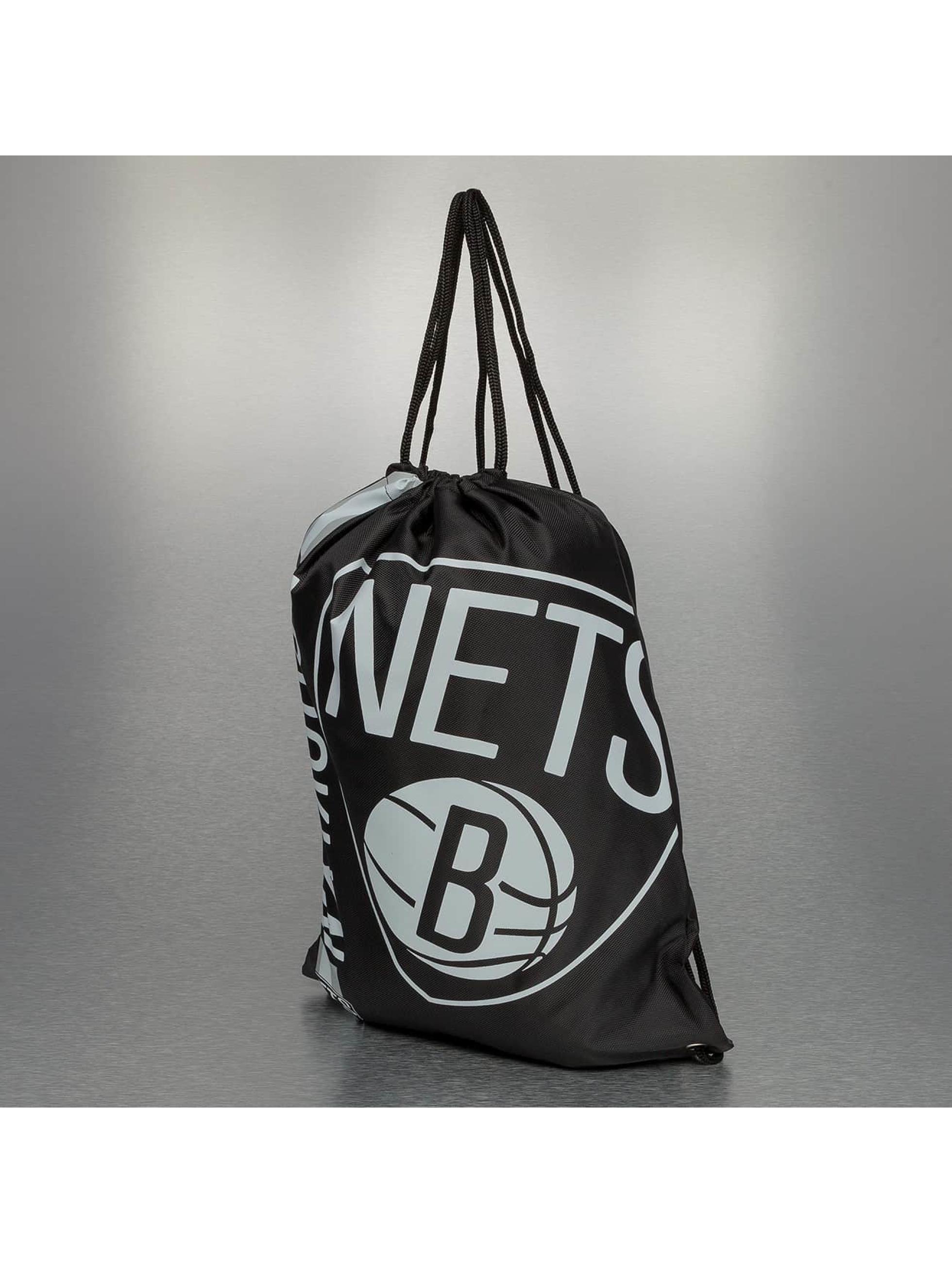 Forever Collectibles Shopper NBA Cropped Logo Brooklyn Nets zwart